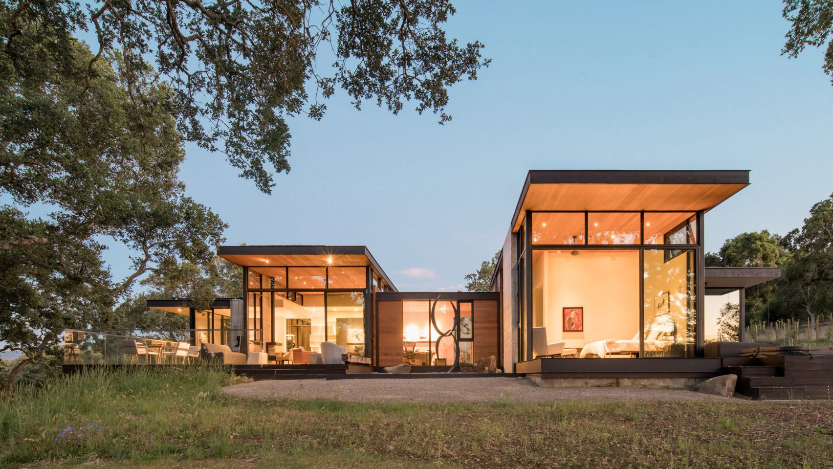 Stunning California home was inspired by oak trees