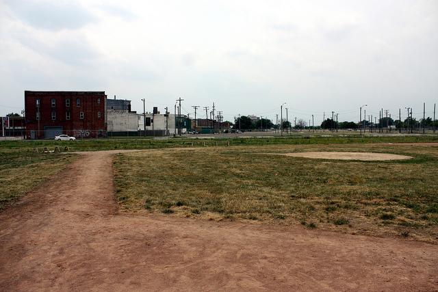 Tiger Stadium field today