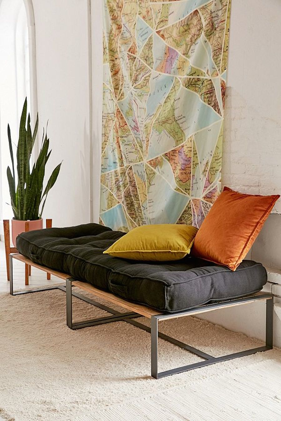 Urban Outfitters sectional sofa.