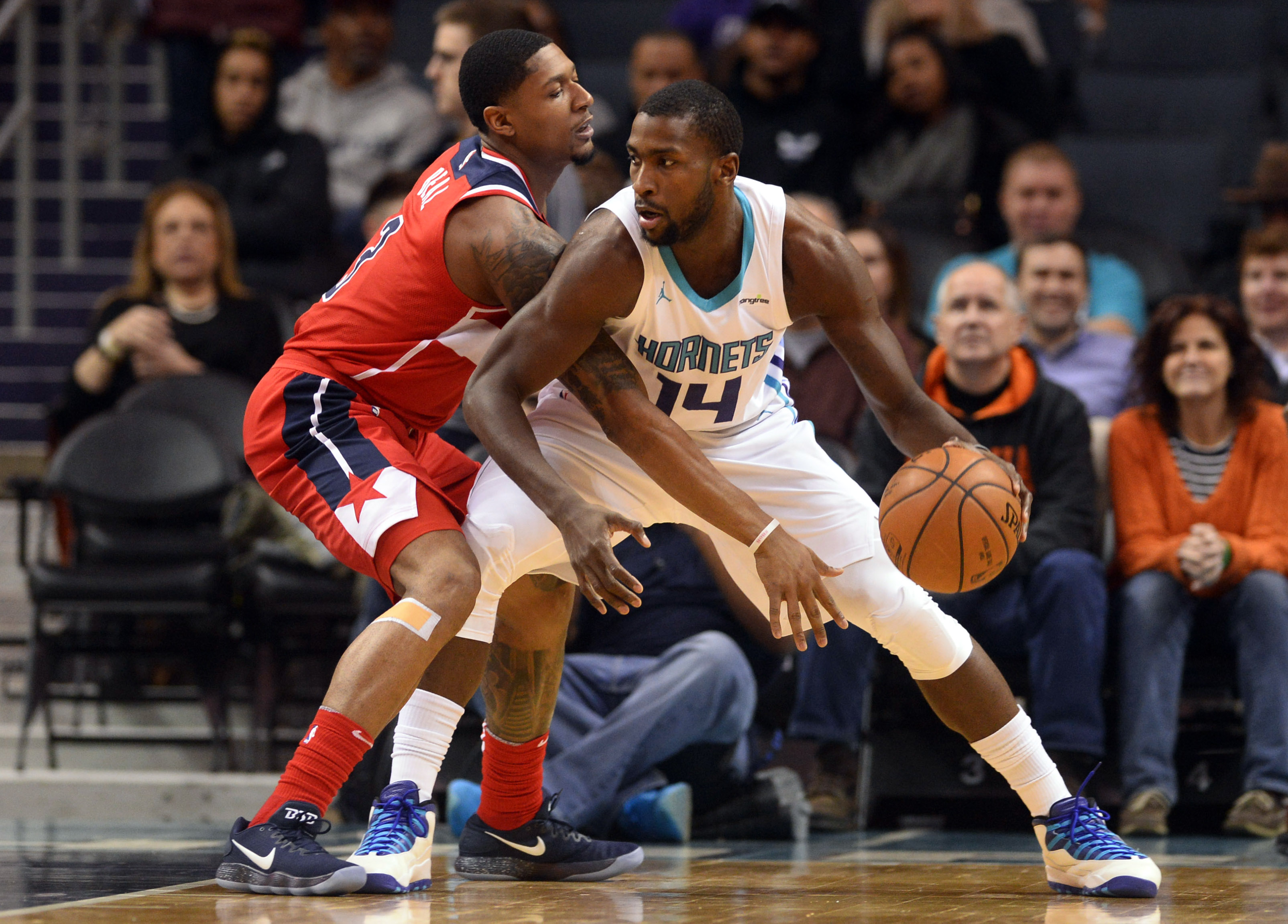 NBA: Washington Wizards at Charlotte Hornets
