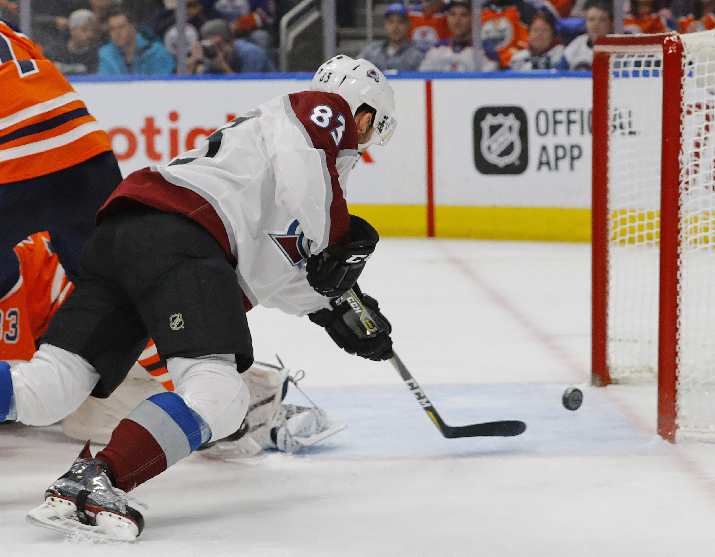 Colorado Avalanche fail to contain Draisaitl McDavid lose in overtime 3 2