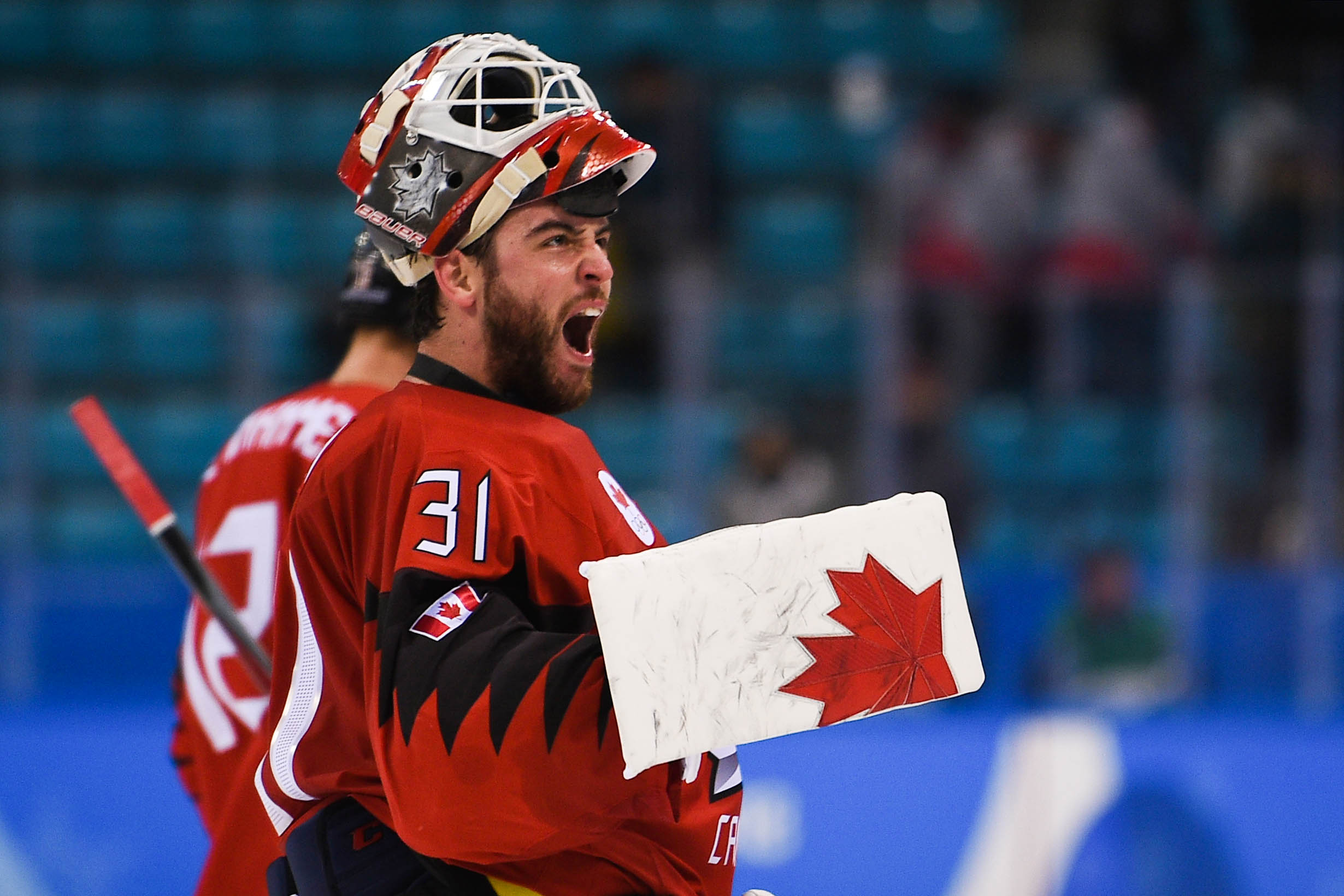 Olympics: Ice Hockey-Men Team Quarterfinal-CAN-FIN