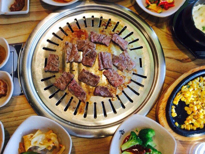 Korean barbecue from Charm Korean BBQ