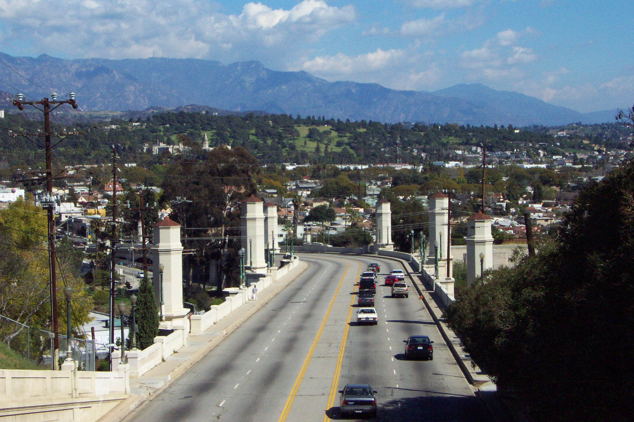 The Glendale-Hyperion bridge.