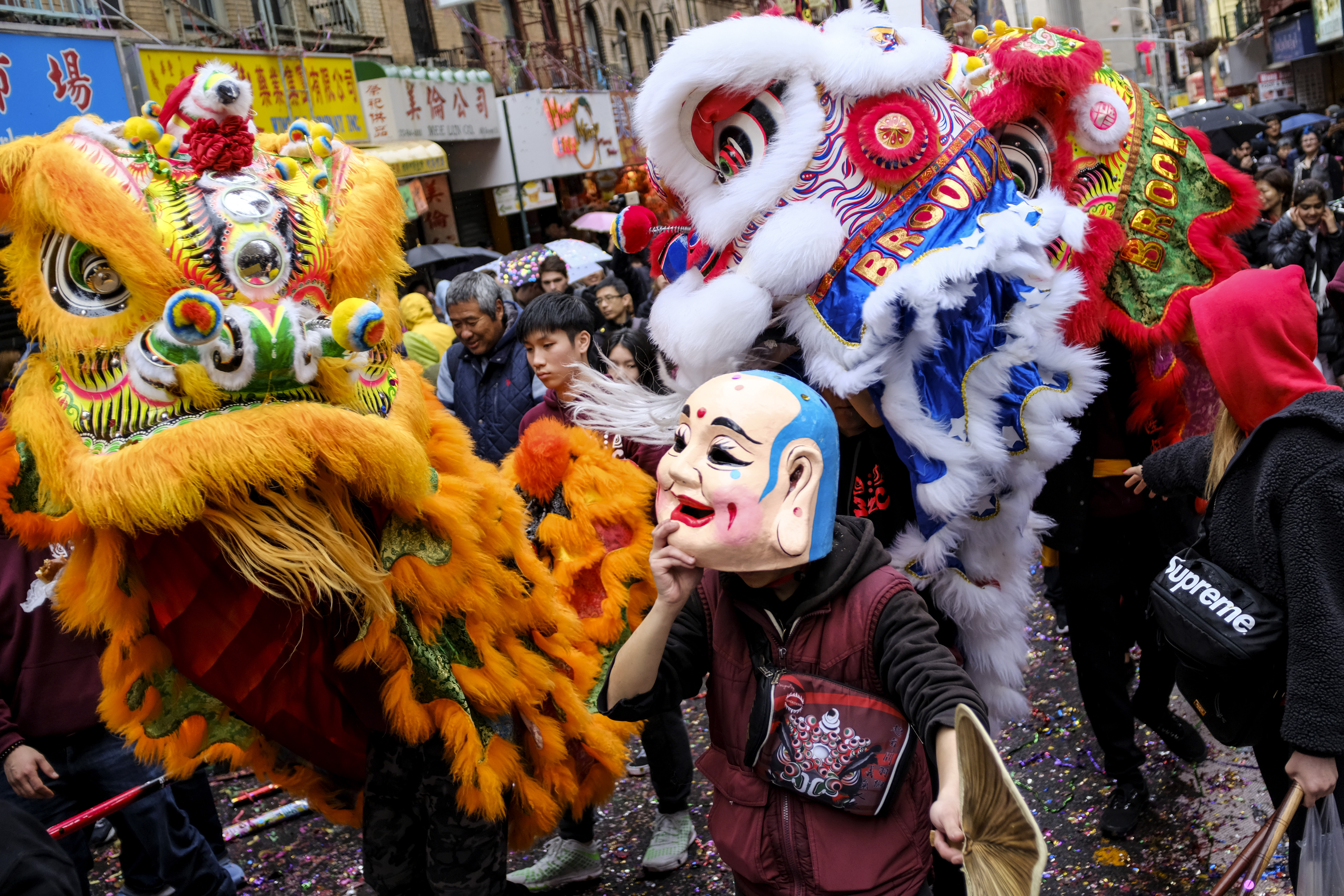 New York's Chinatown Marks First Day Of The Lunar New Year
