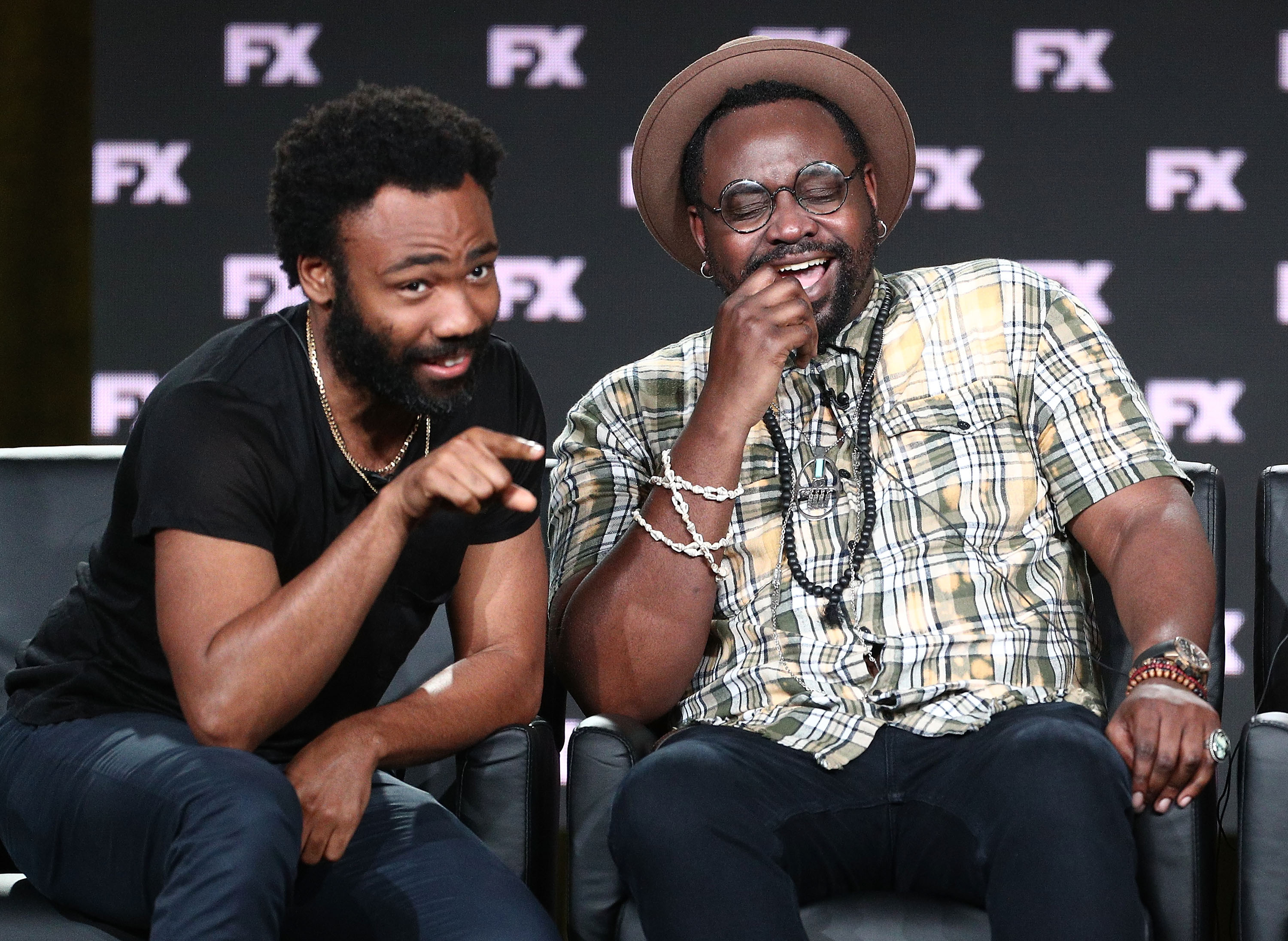 Donald Glover and Brian Tyree