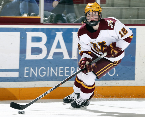 WCHA: Women - Gophers Place Four On All-WCHA Teams