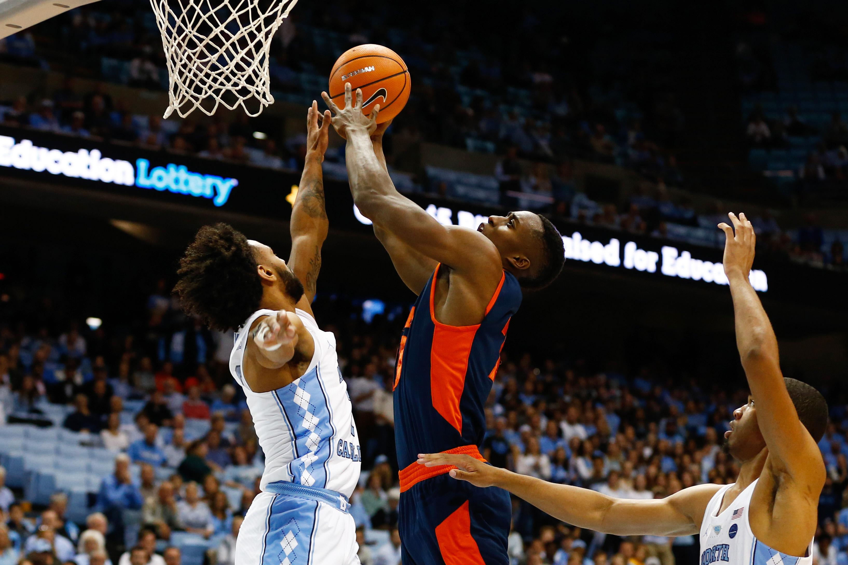 NCAA Basketball: Bucknell at North Carolina