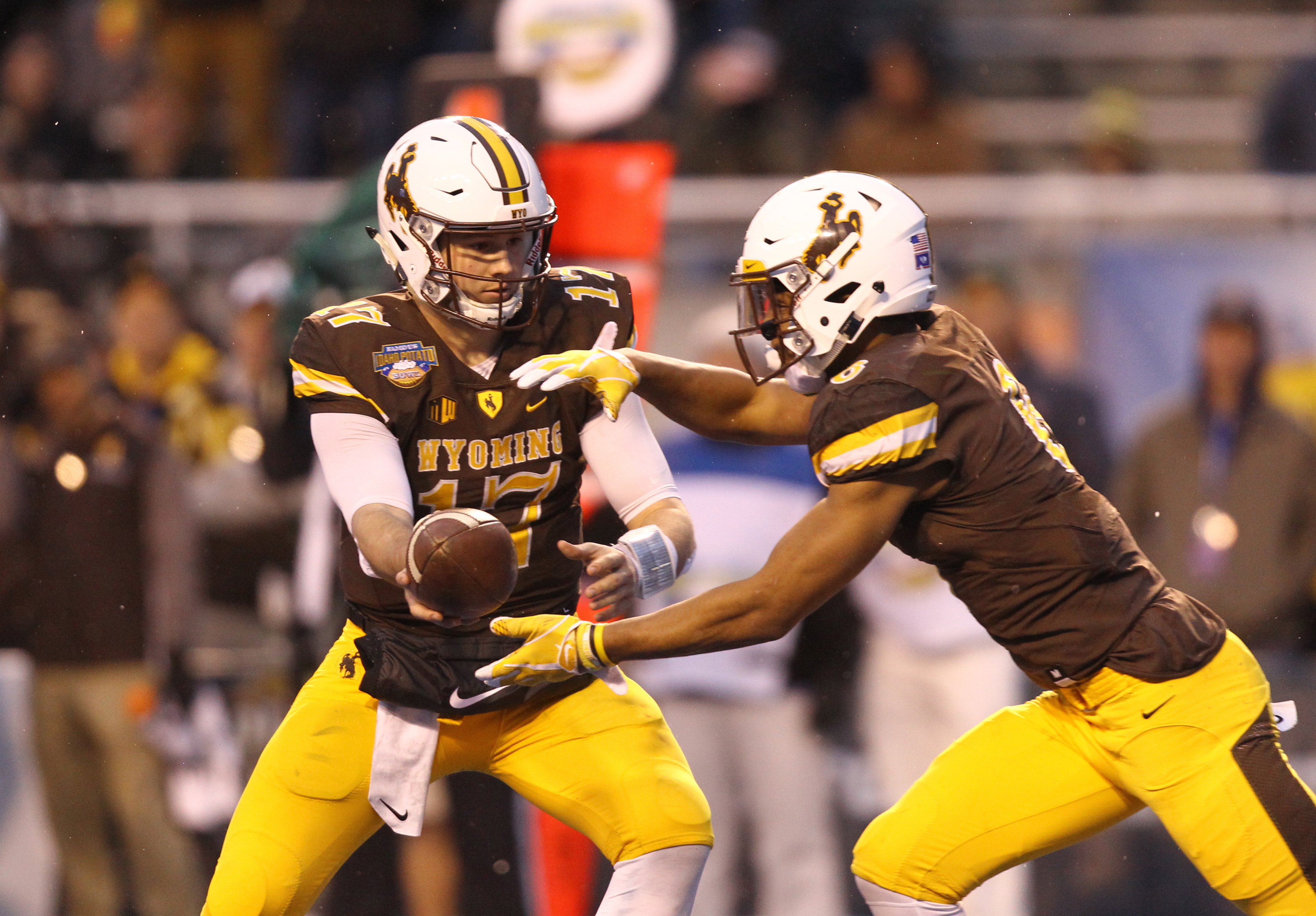 NCAA Football: Potato Bowl-Central Michigan vs Wyoming