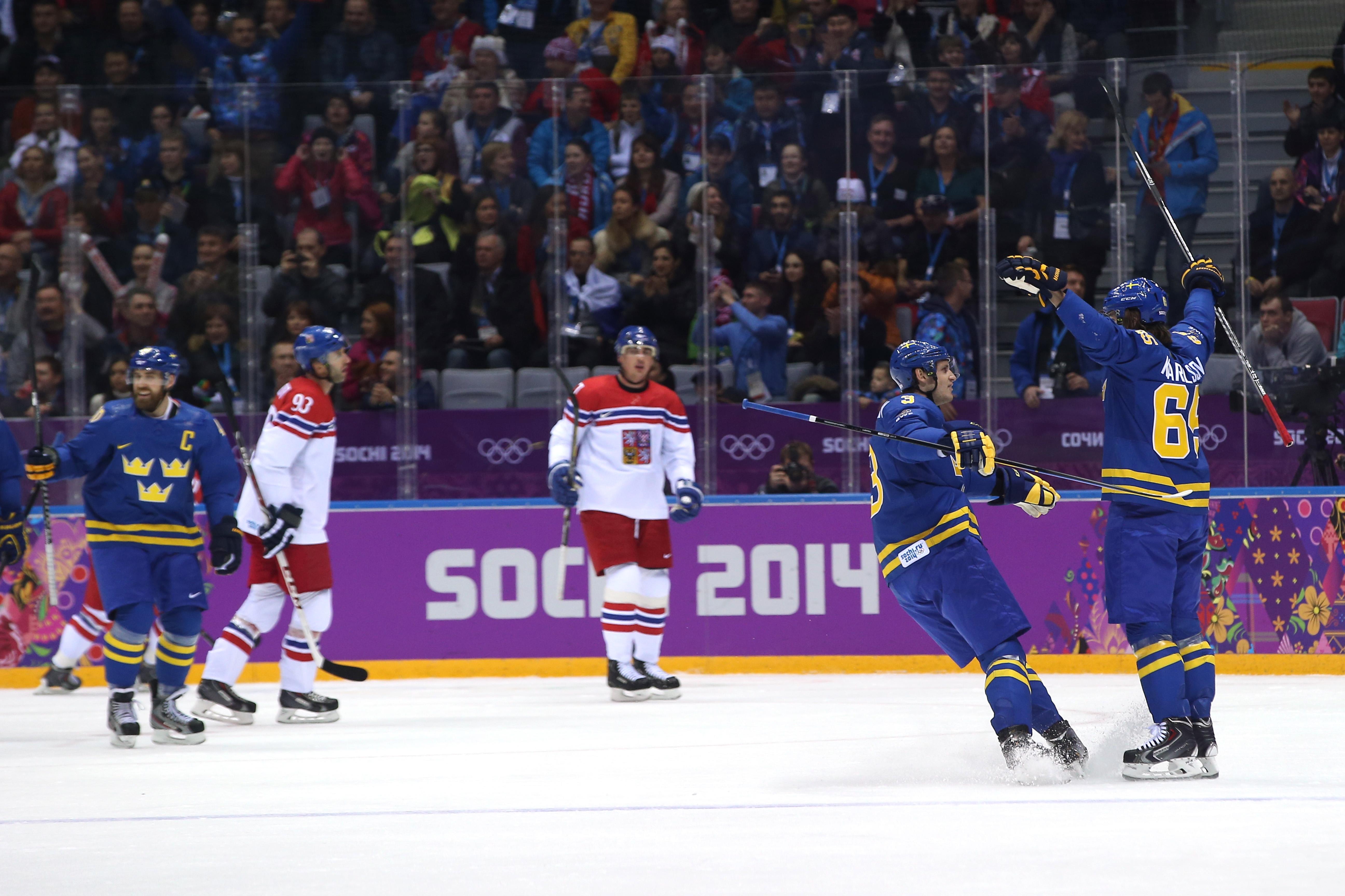 Ice Hockey - Winter Olympics Day 5 - Czech Republic v Sweden