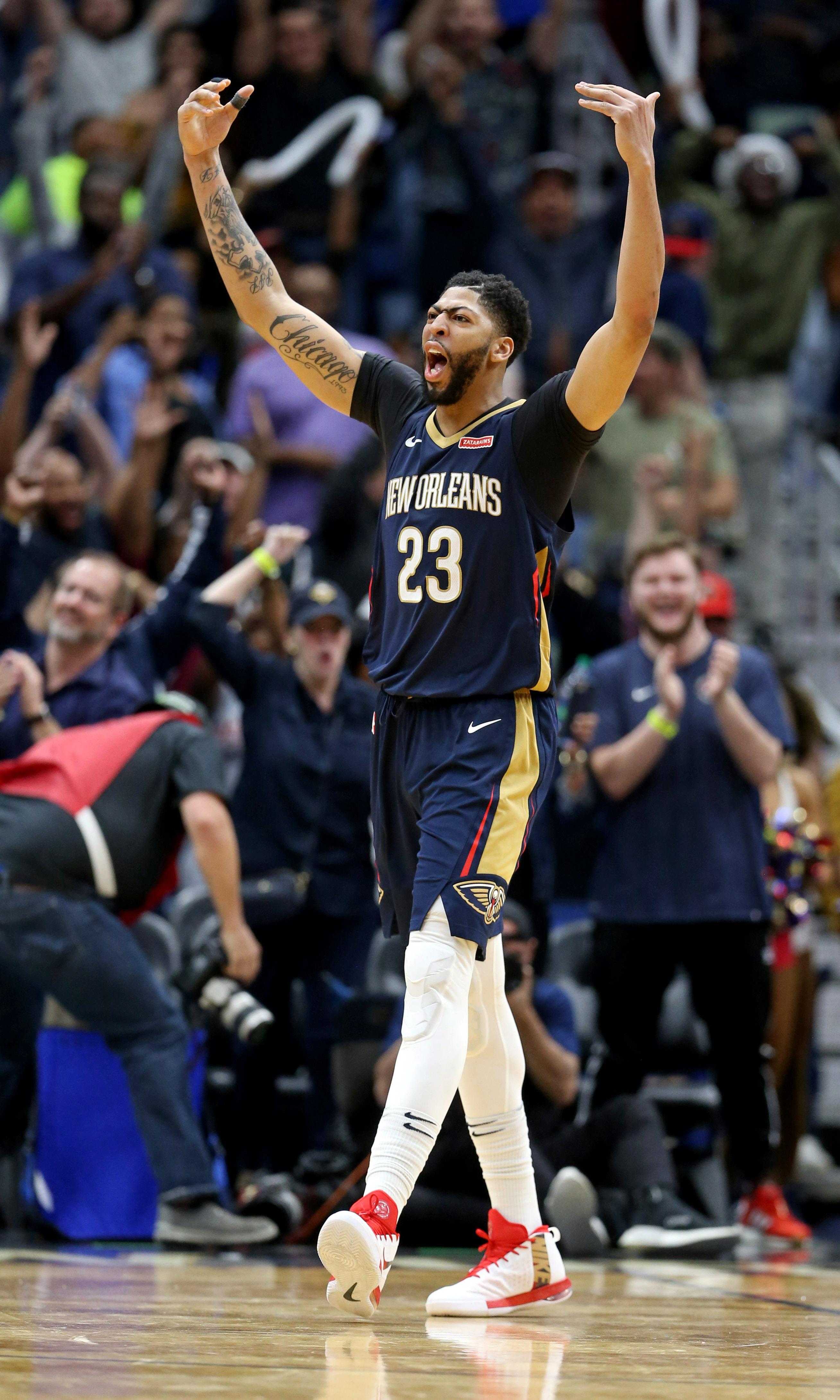 NBA: Miami Heat at New Orleans Pelicans