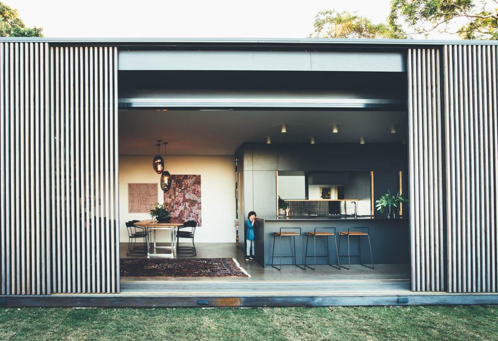 modern slat house