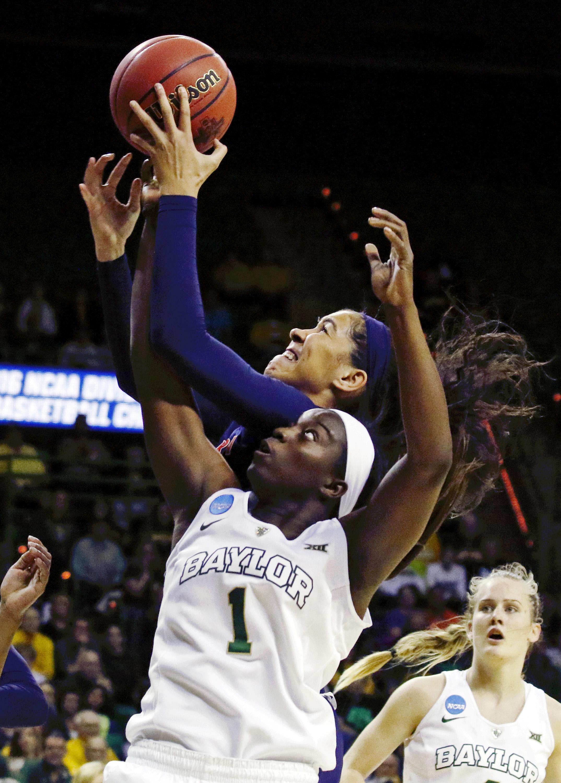 NCAA Womens Basketball: NCAA Tournament-Second Round-Baylor vs Auburn