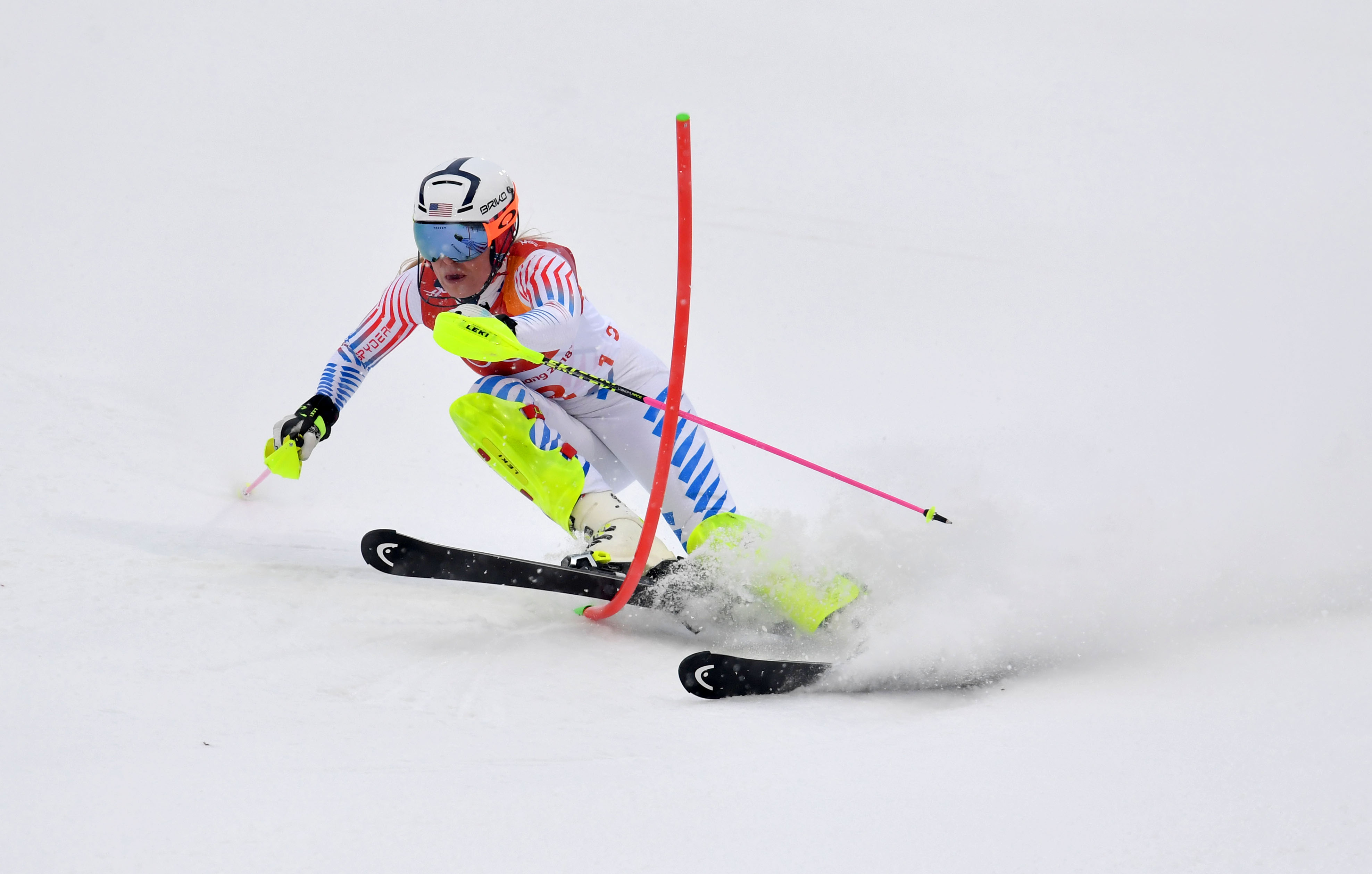 Olympics: Alpine Skiing-Womens Alpine Combined