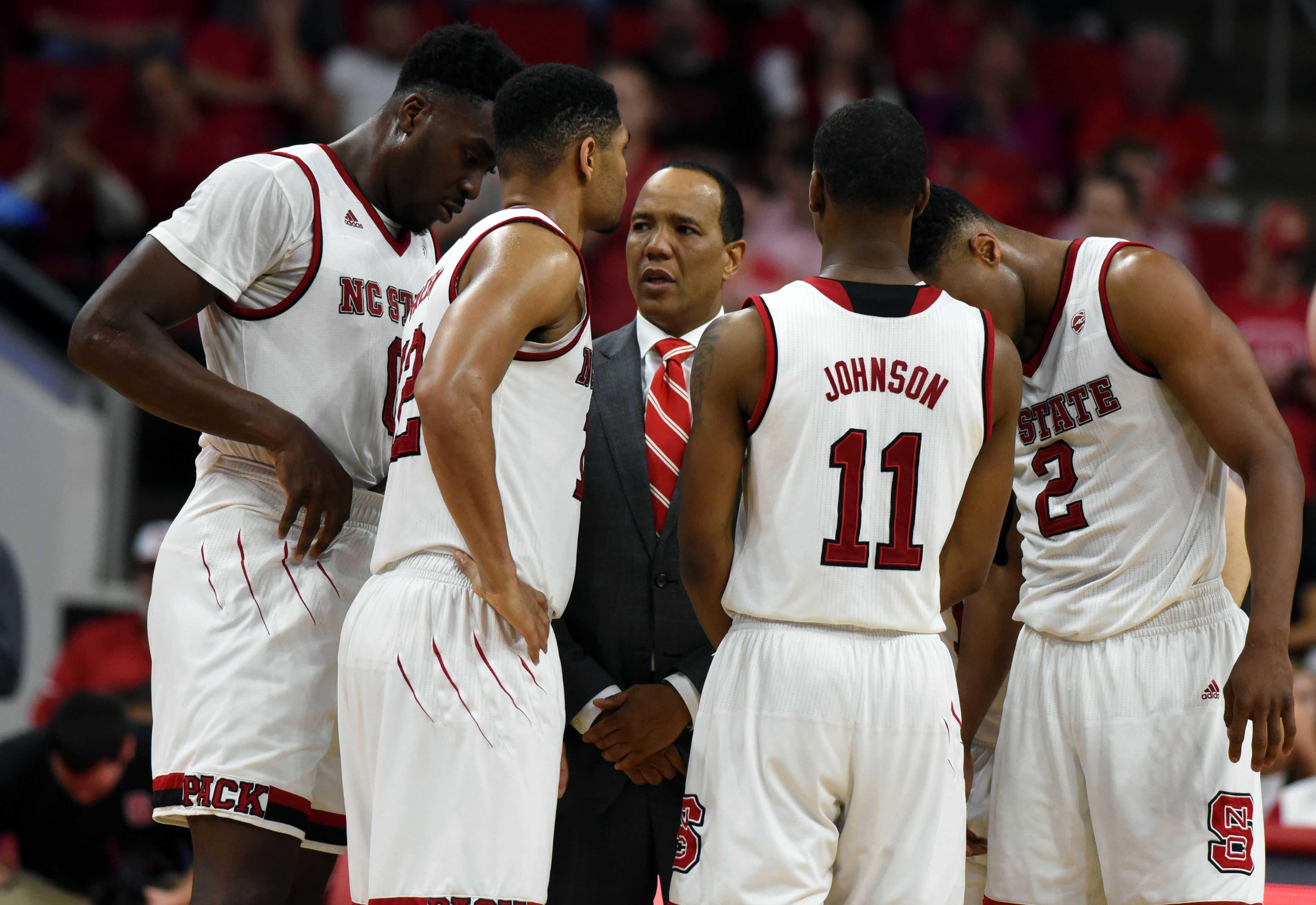 NCAA Basketball: Boston College at North Carolina State