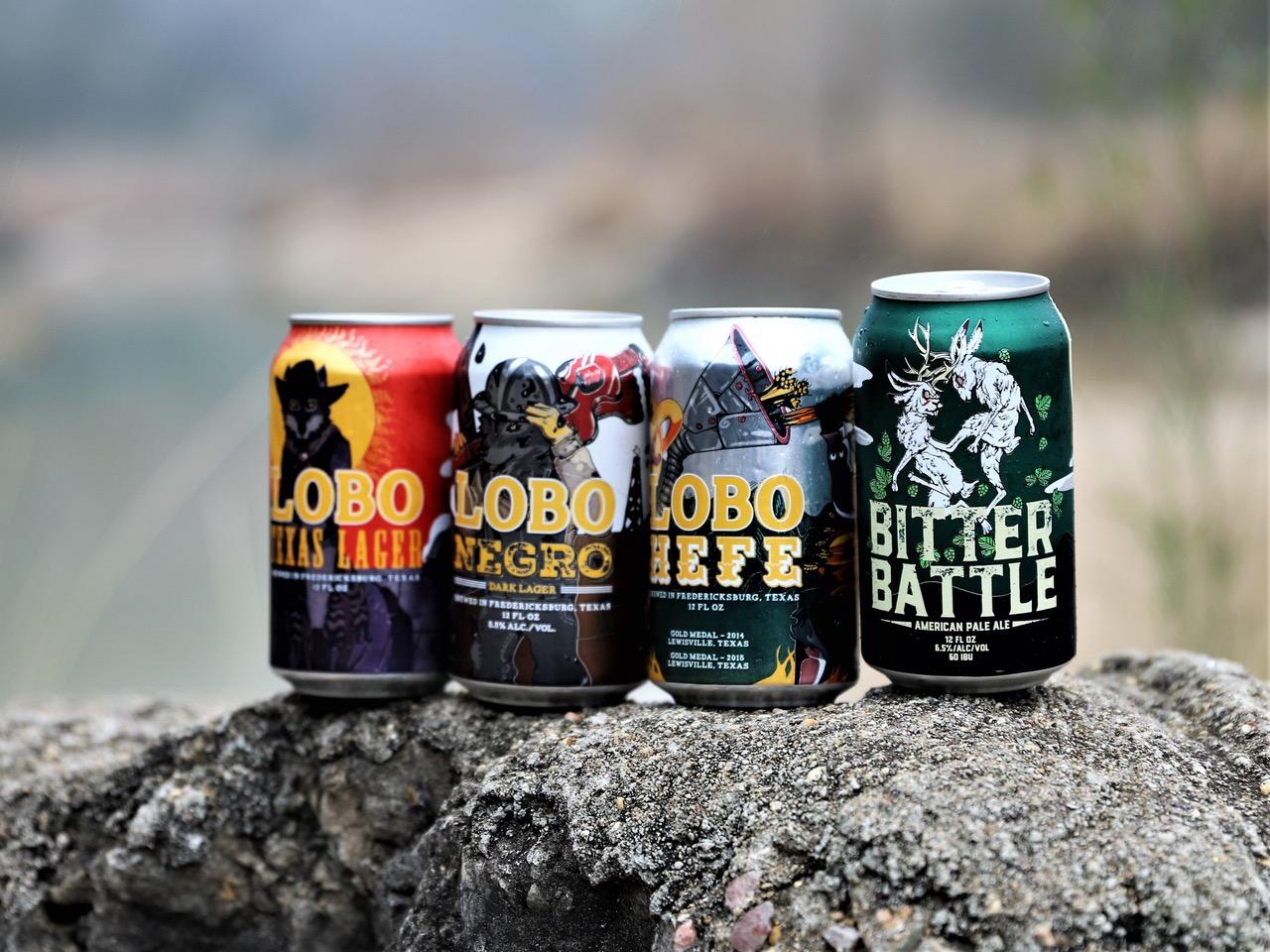 Beers from Pedernales