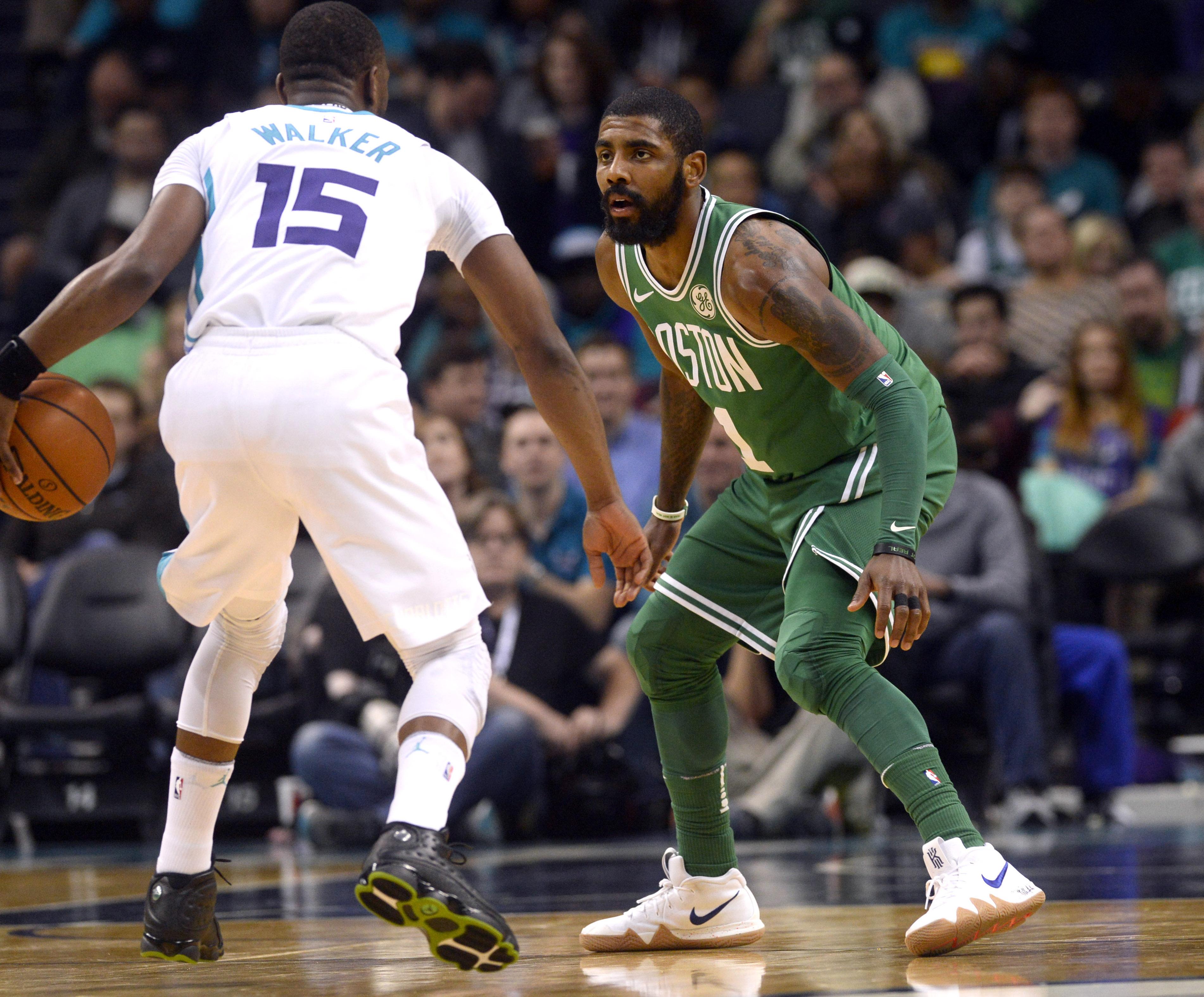 NBA: Boston Celtics at Charlotte Hornets
