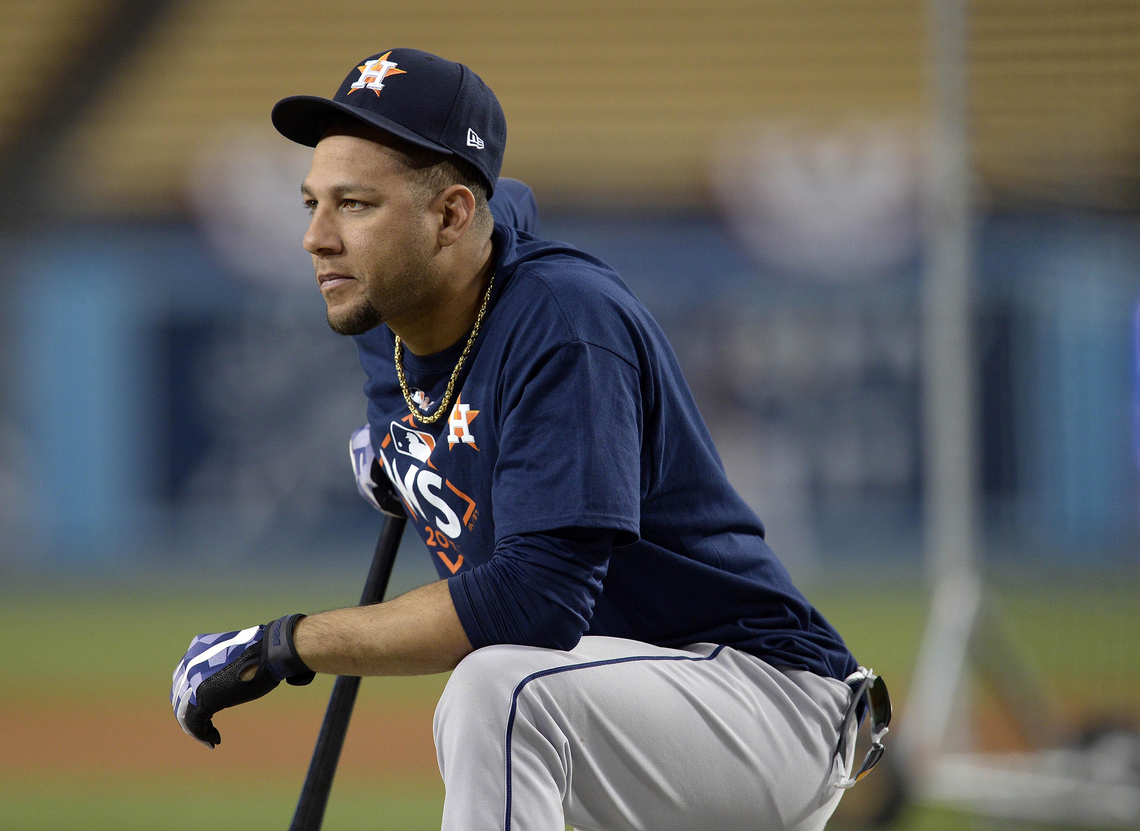 MLB: World Series-Houston Astros workout