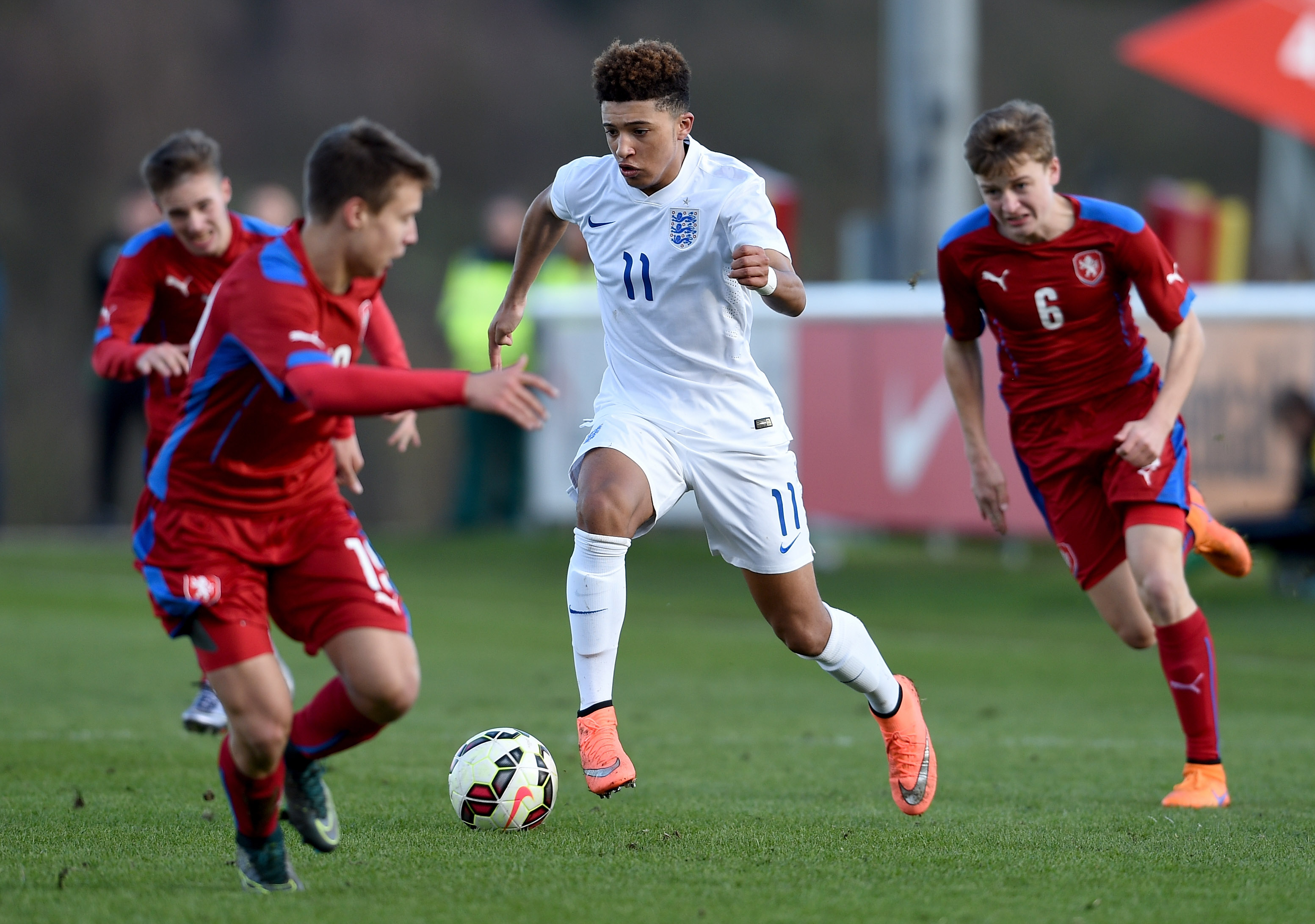 England v Czech Republic - U16s International Friendly