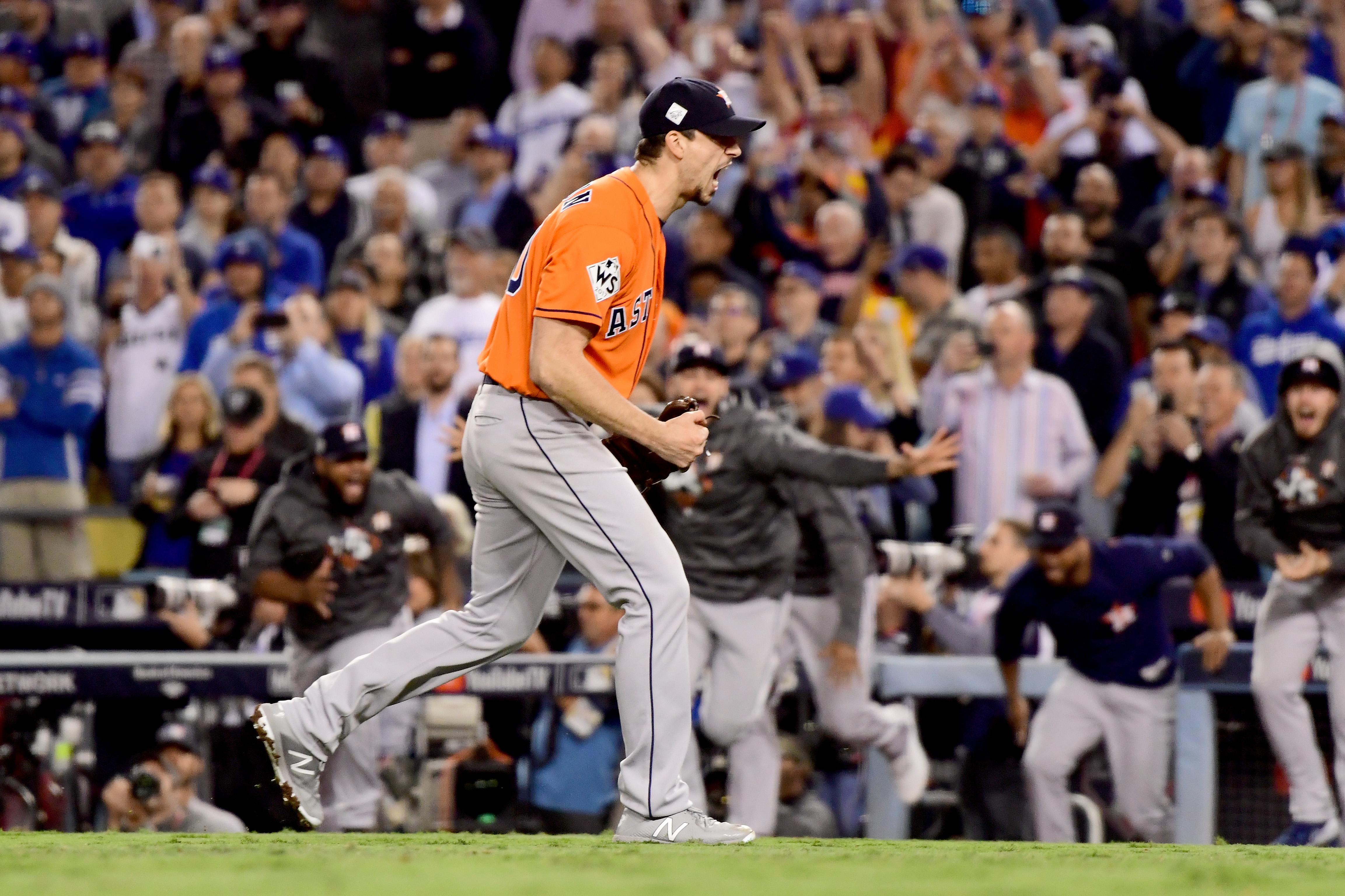 World Series - Houston Astros v Los Angeles Dodgers - Game Seven