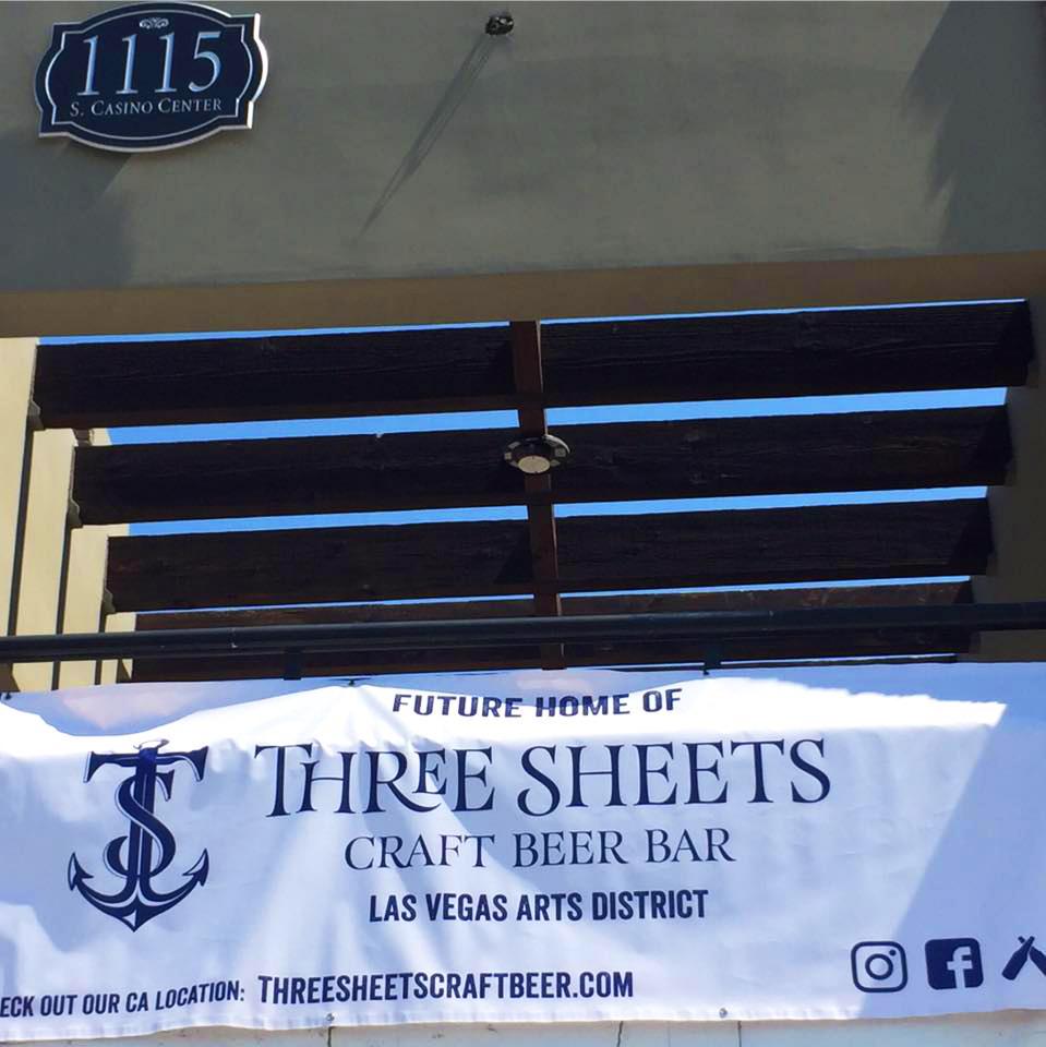 Three Sheets Craft Beer Bar