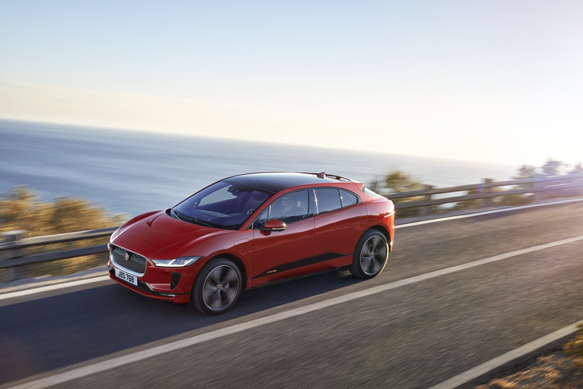 2019 Jaguar I-Pace EV: Design, Specs, Mileage, Price >> Jaguar S I Pace Is A Speedy Dual Motor Model X Competitor