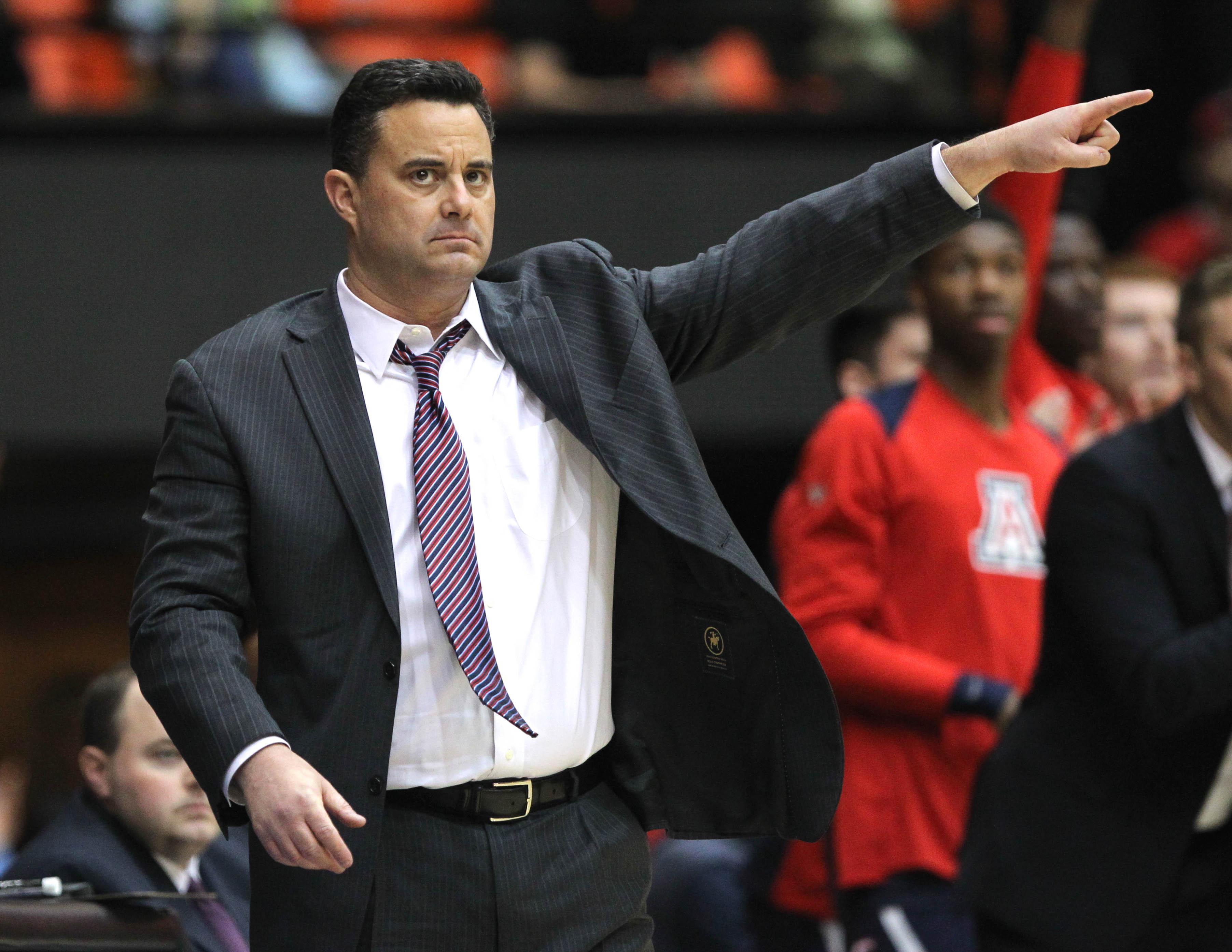 NCAA Basketball: Arizona at Oregon State