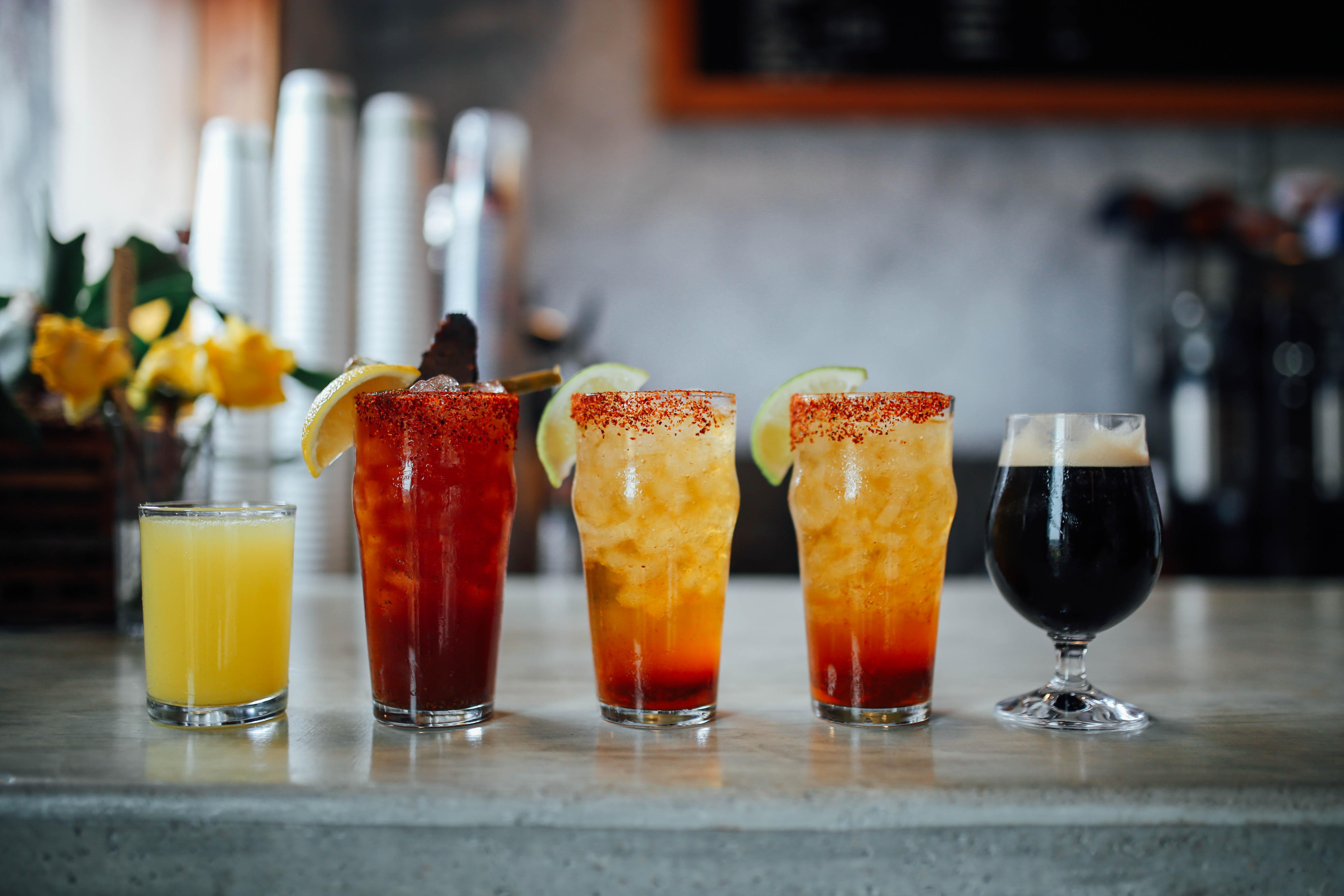 Cosmic Coffee's brunch cocktails