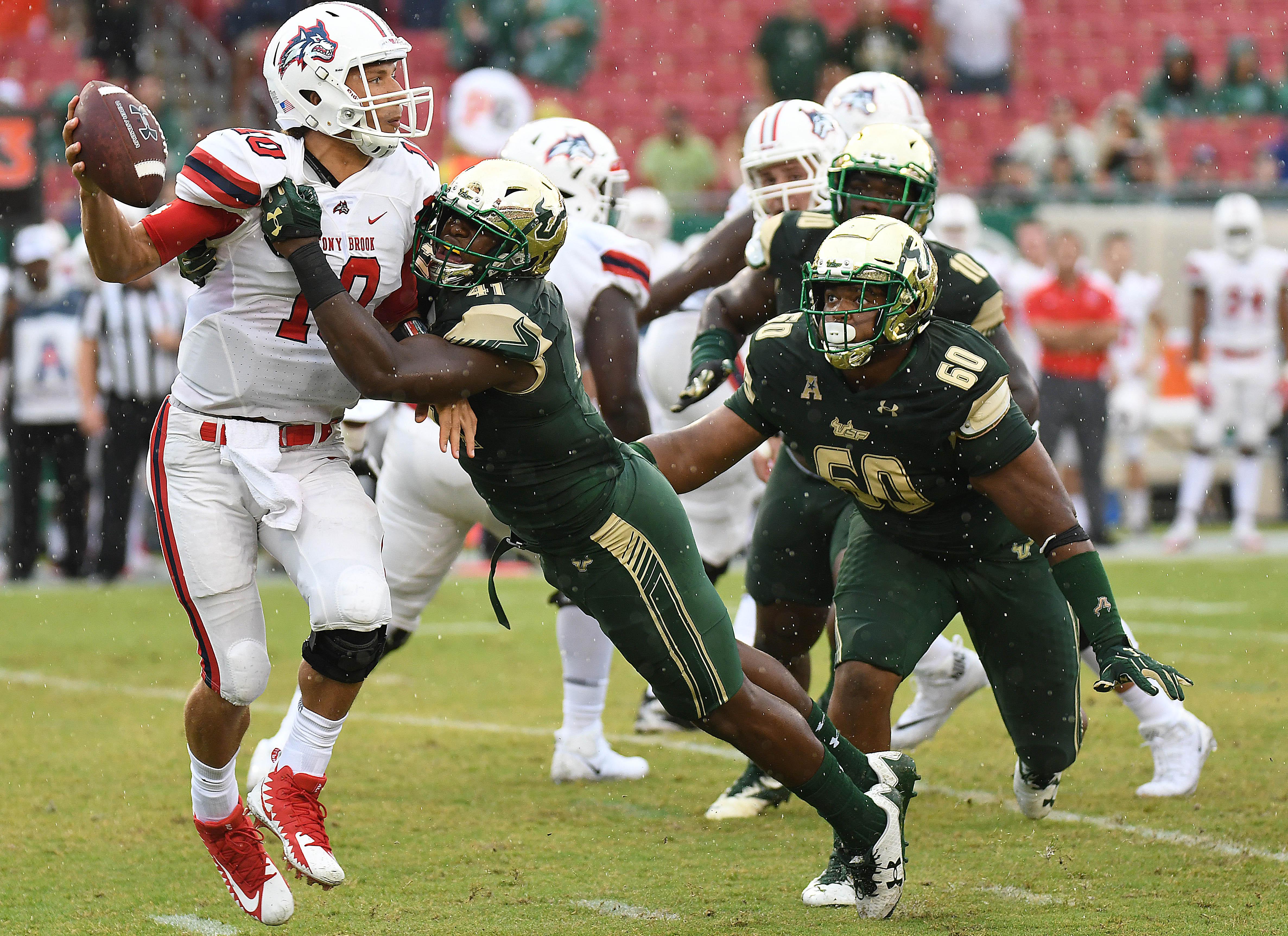 NCAA Football: Stony Brook at South Florida
