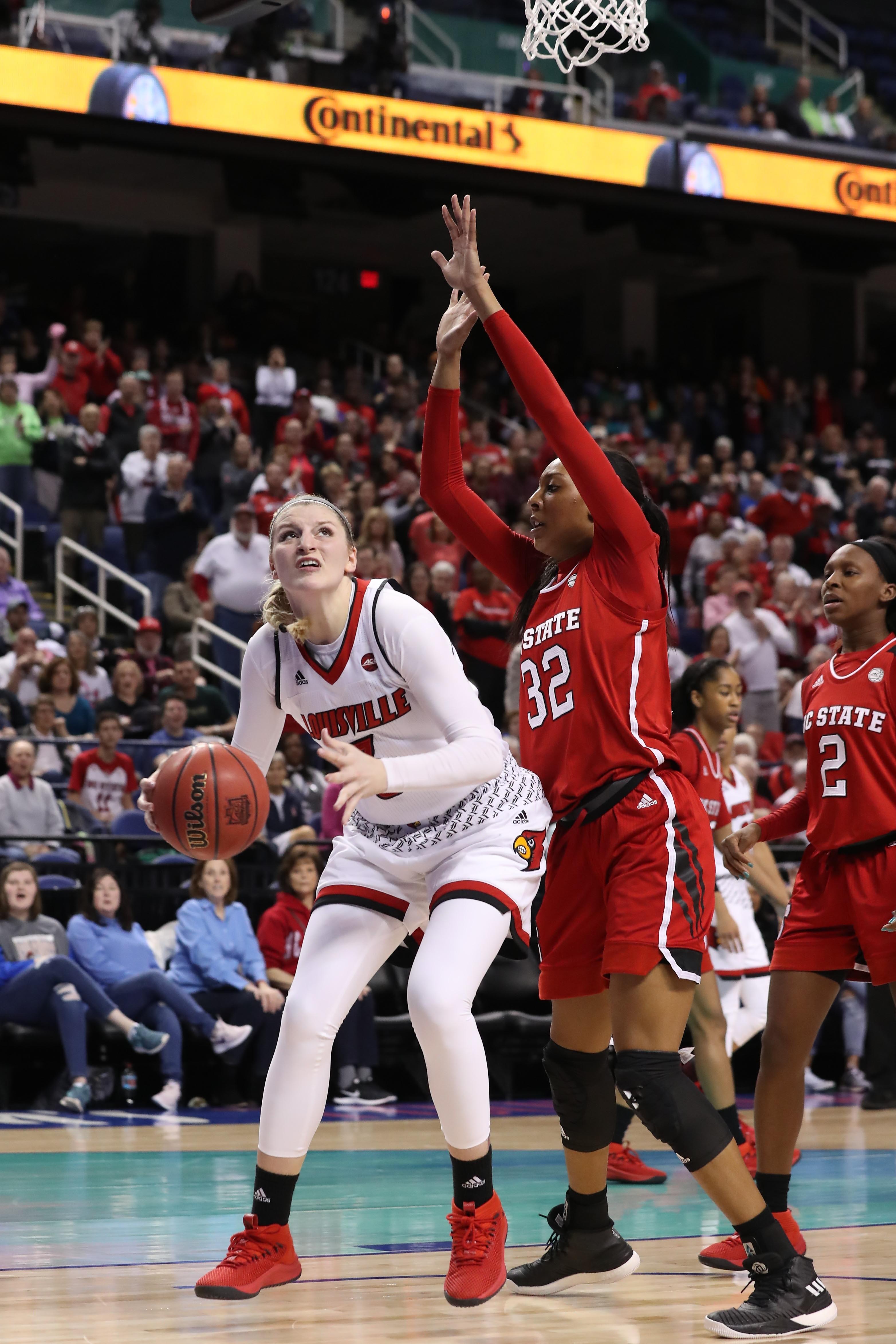 NCAA Womens Basketball: ACC Tournament NC State vs Louisville
