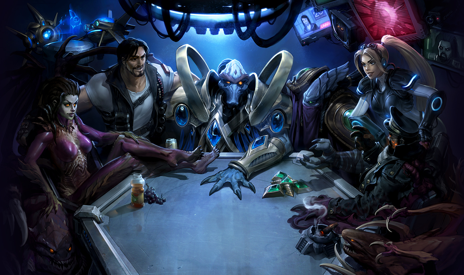 Blizzard celebrates StarCraft's 20th anniversary with in-game giveaways