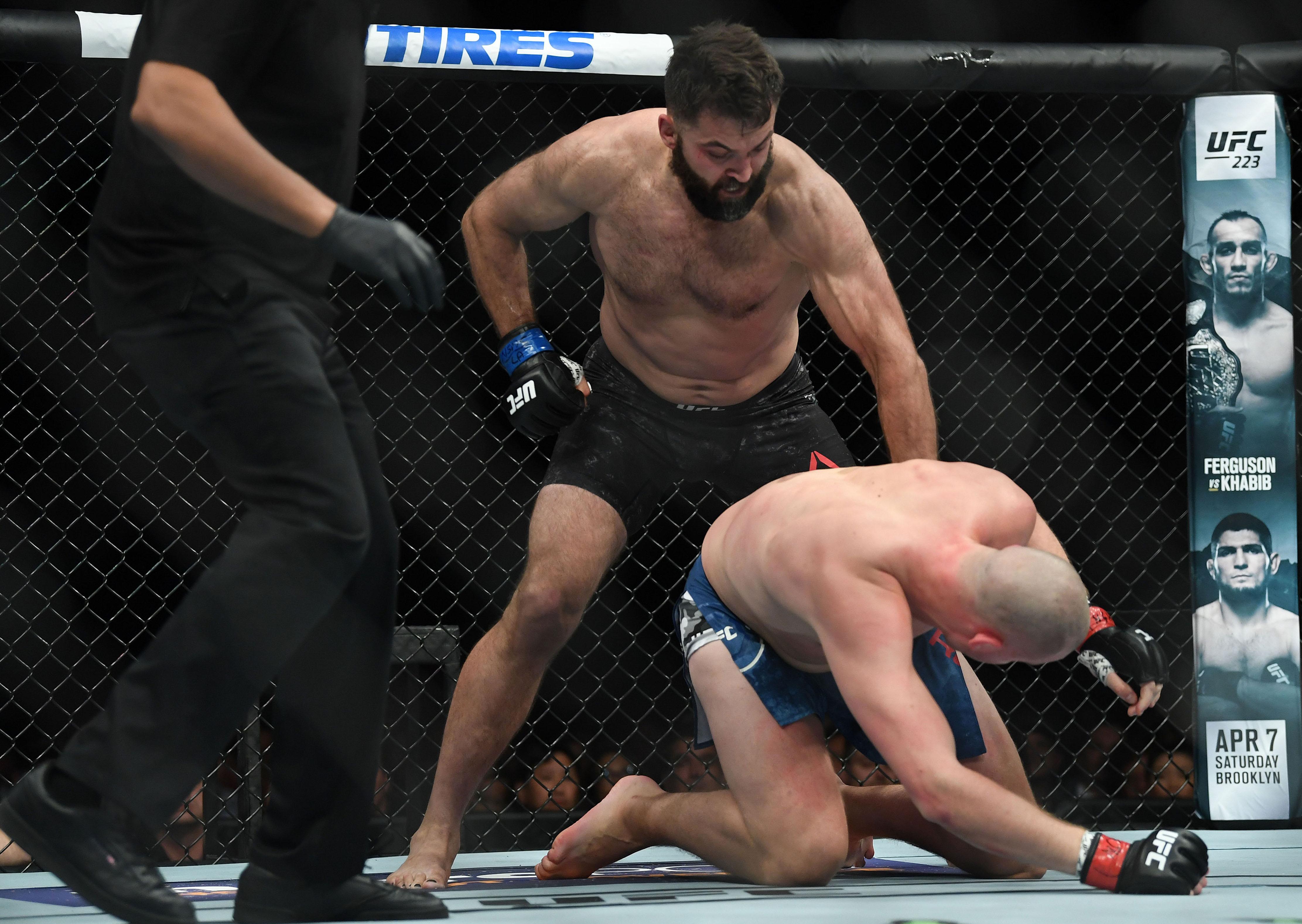 MMA: UFC 222-Struve vs Arlovski