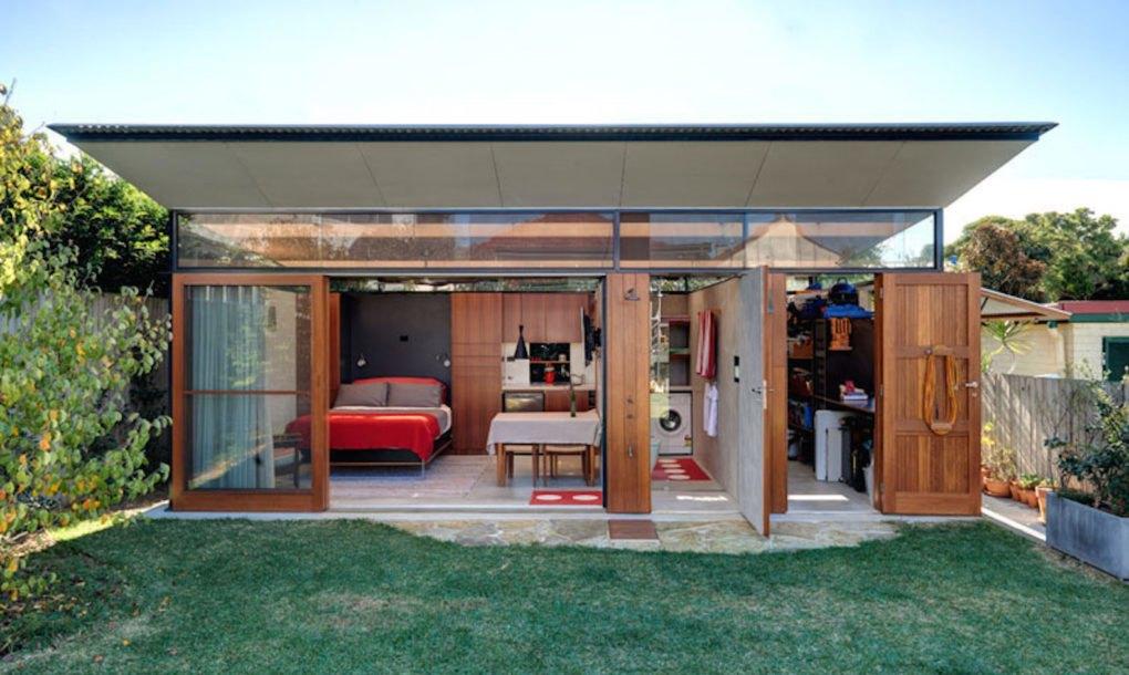 Sweet backyard studio packs loads of amenities into 312 square feet