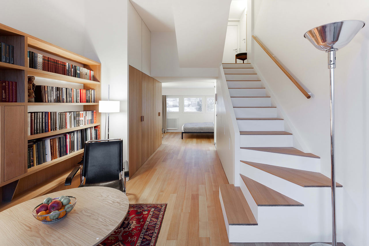 355-square-foot flat tucks everything away with clever built-ins