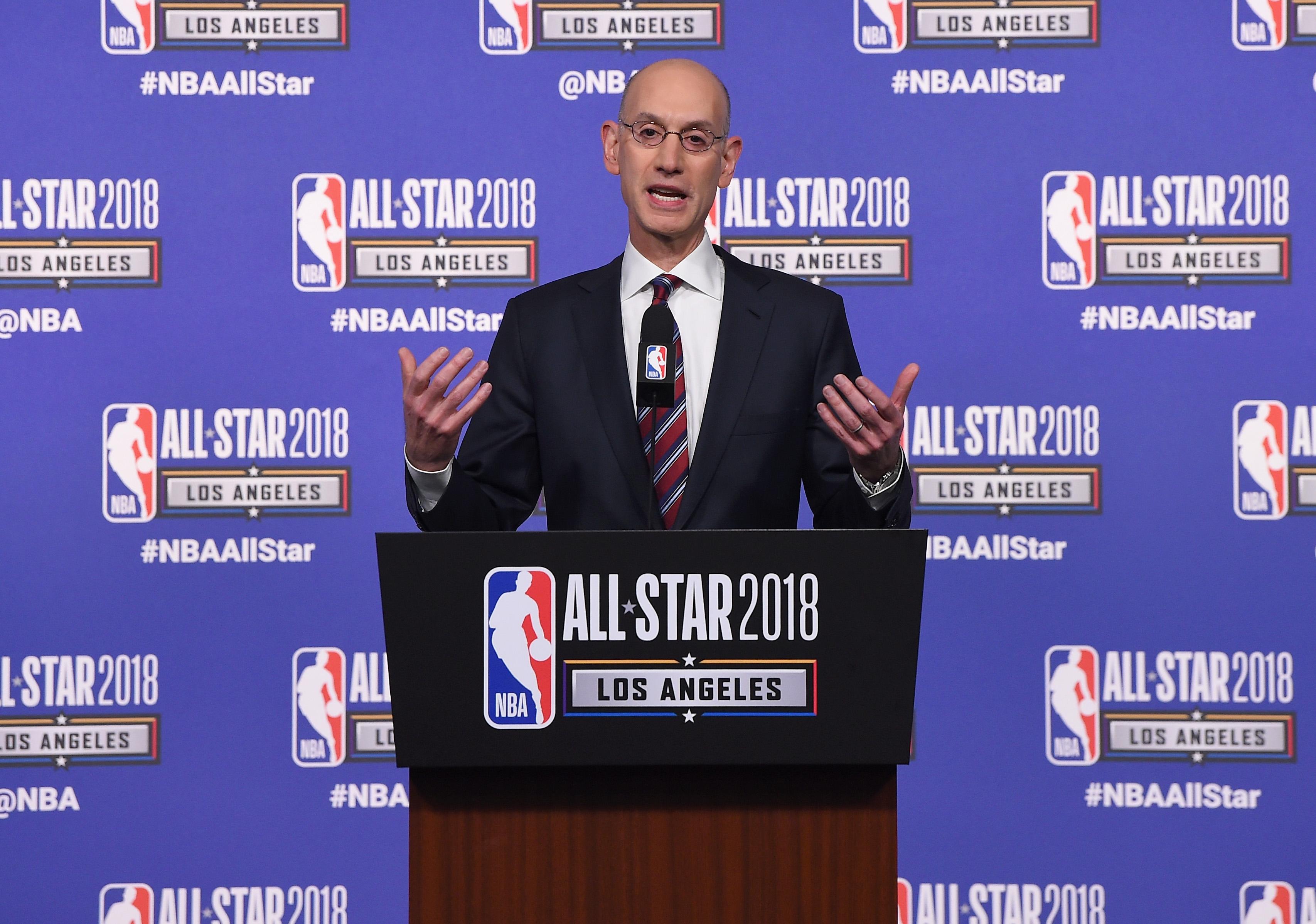 NBA All-Star Game 2018 - Commissioner Adam Silver Press Conference