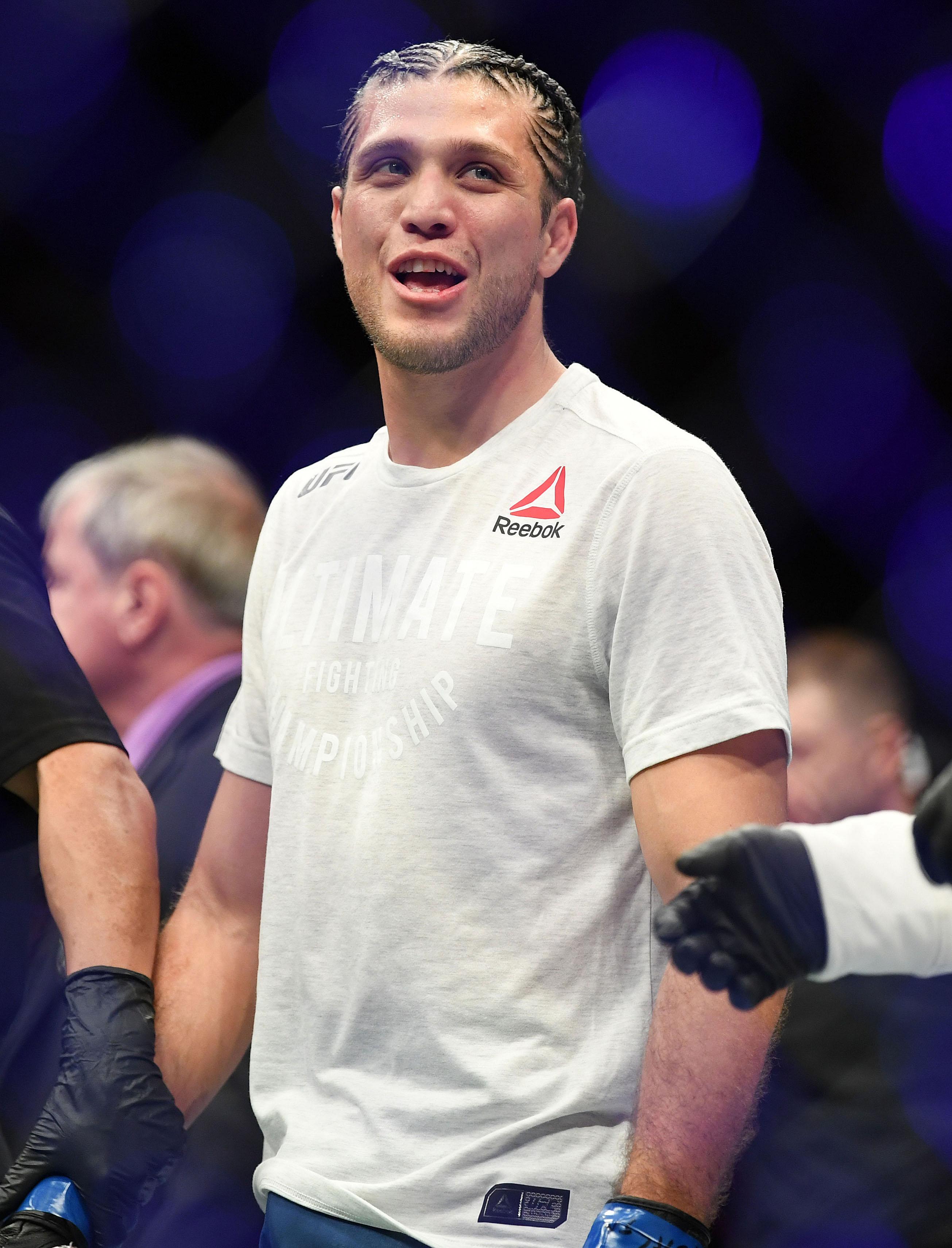 MMA: UFC 222-Edgar vs Ortega