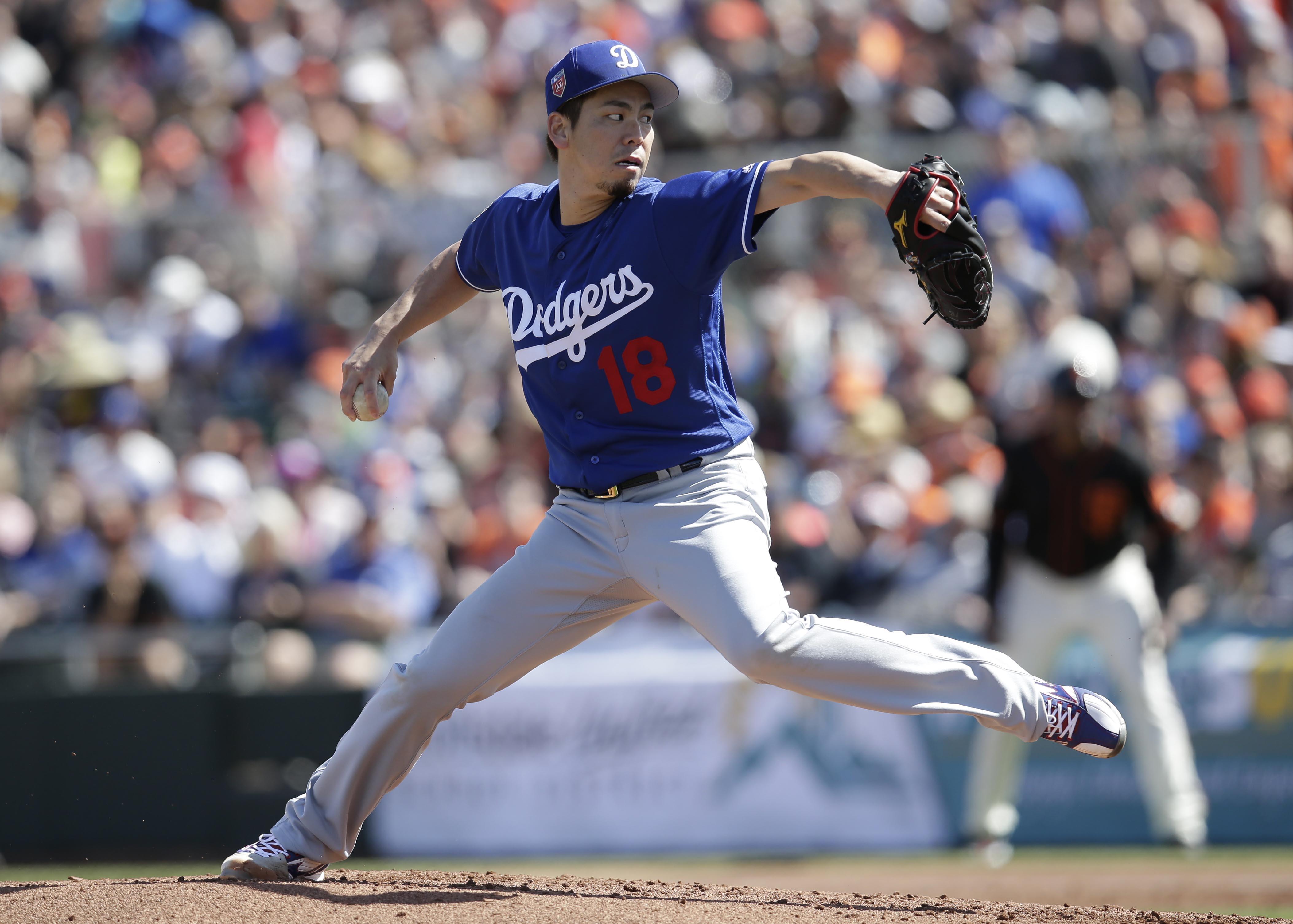 MLB: Spring Training-Los Angeles Dodgers at San Francisco Giants