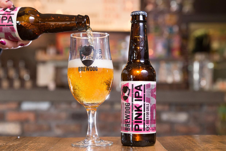 BrewDog's Pink IPA creates gender discrimination lawsuit in which craft beer drinker wins