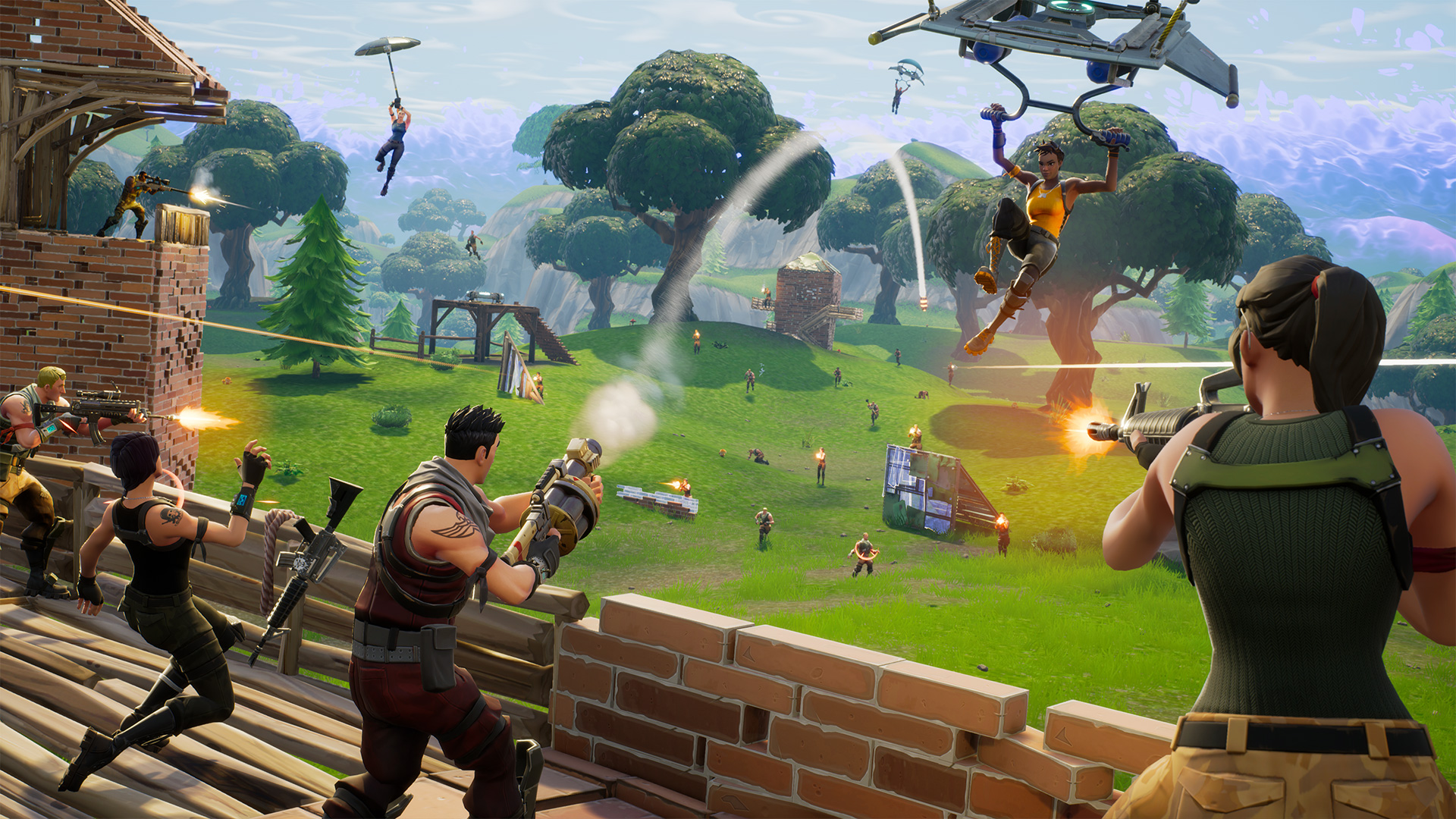 Fortnite Battle Royale Is Getting A New Mode With Five 20 Person