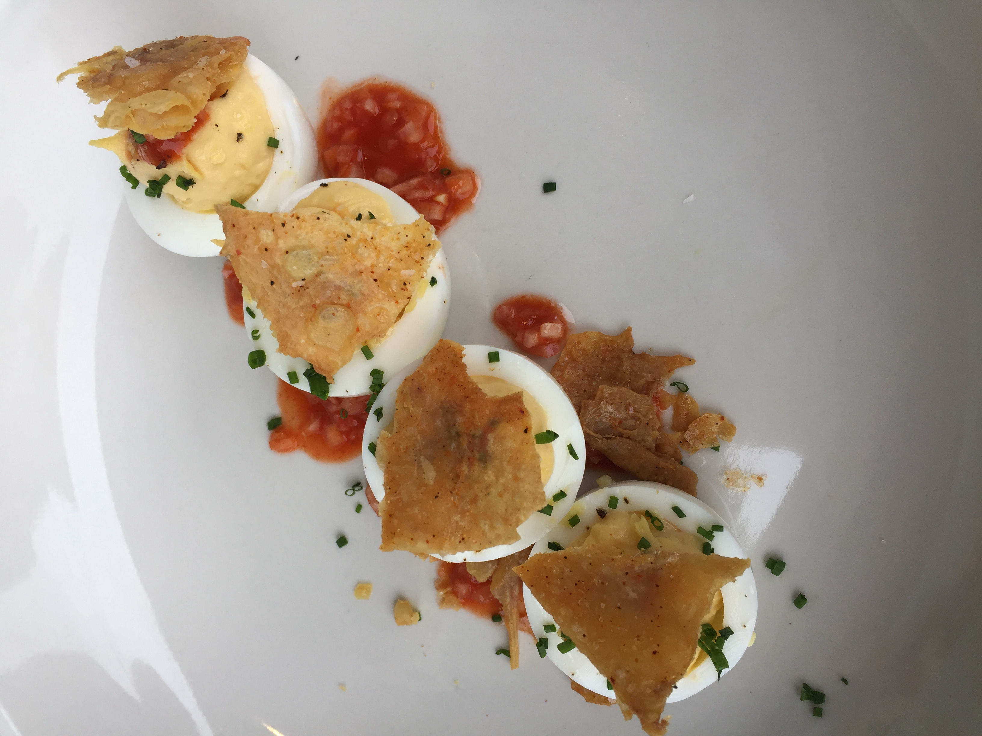 The Cavalier's deviled eggs