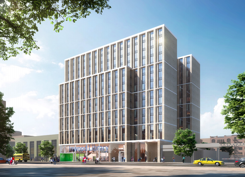 Inwood Library Redevelopment Will Create 175 Affordable Apartments