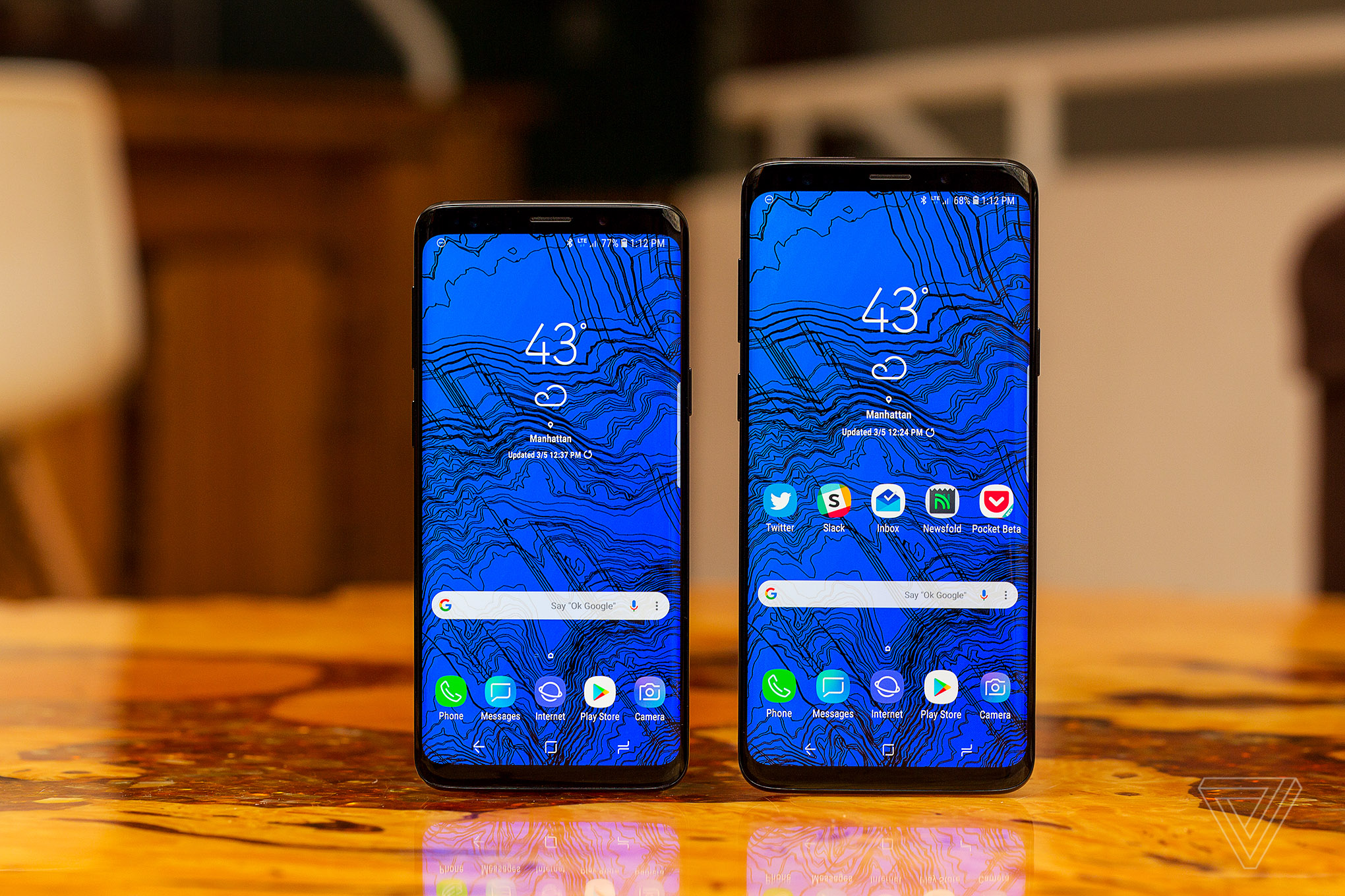 Samsung Galaxy S9 Review Predictably Great Flawed Star Plus The Verge