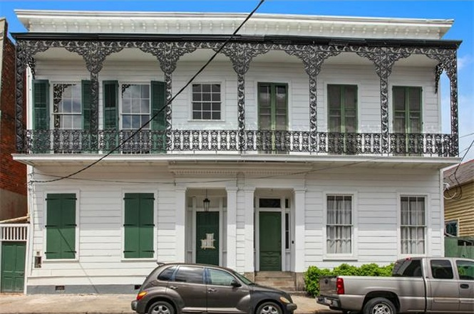 For sale in new orleans curbed new orleans a unit in this marigny townhouse goes for just under 400k sciox Image collections
