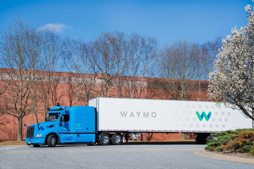 Alphabet's self-driving truck