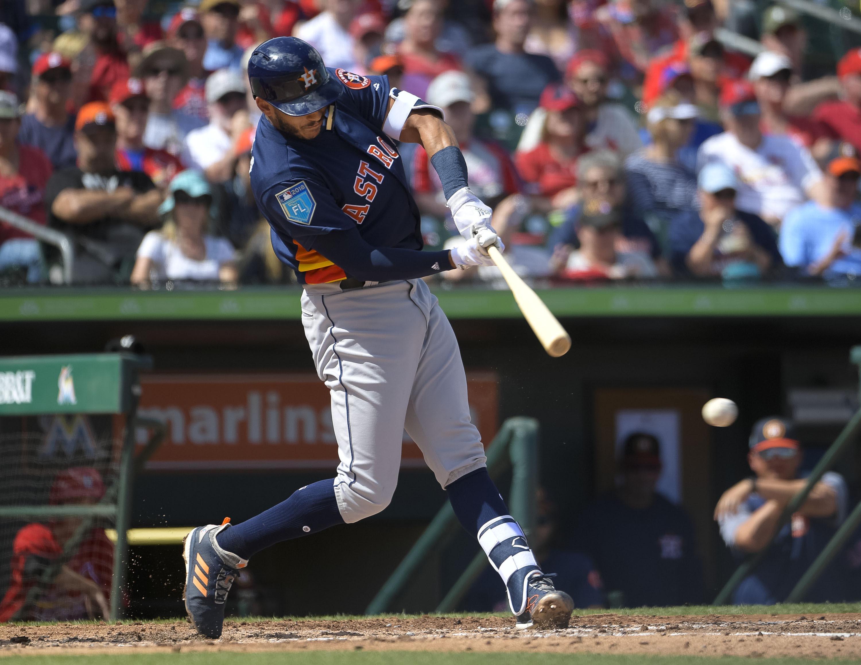 MLB: Spring Training-Houston Astros at St. Louis Cardinals