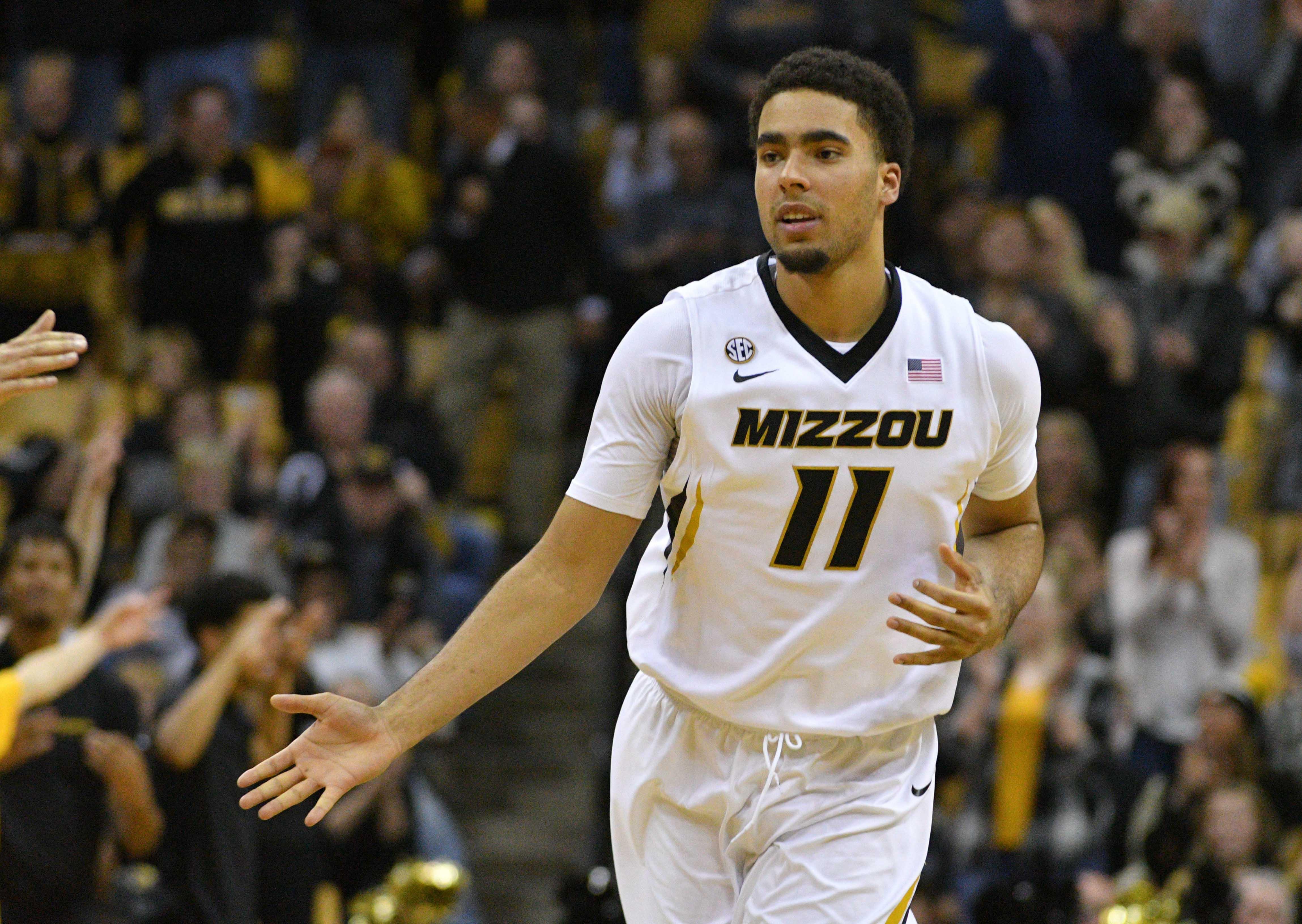 NCAA Basketball: Tennessee at Missouri