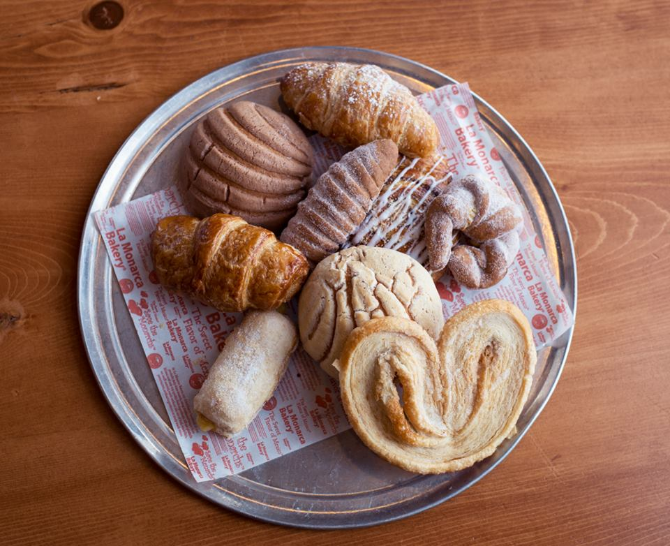 Mexican breads and pastries from La Monarca.