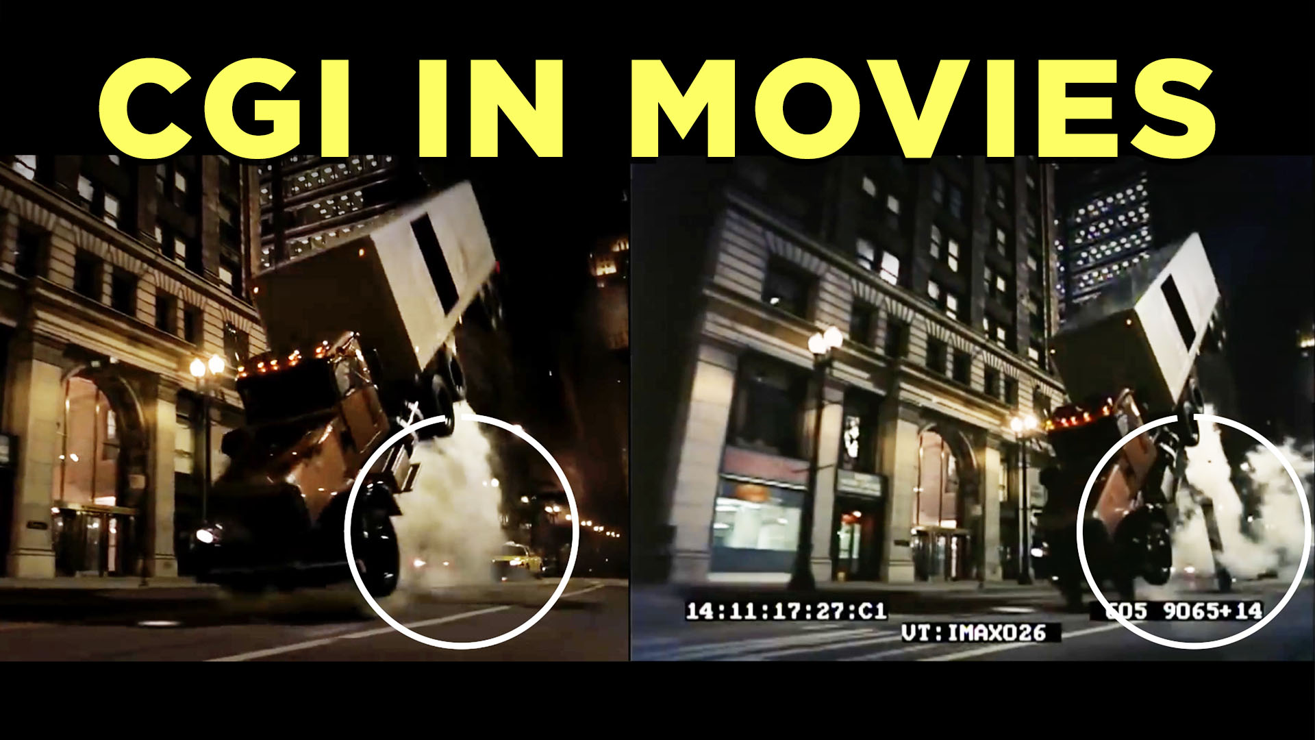 CGI in movies: Not just for superheroes