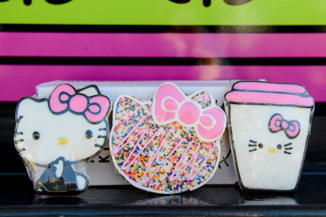 Hello Kitty Cafe Truck's cookie