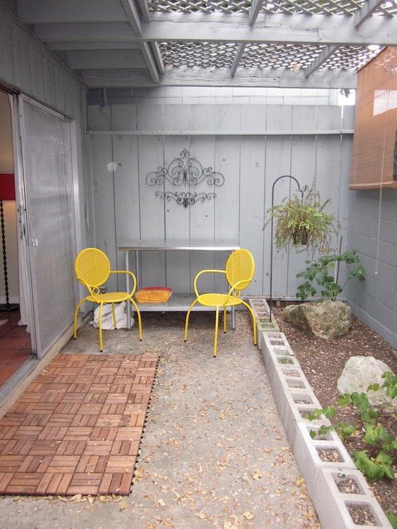 Porch of Rosedale apartment